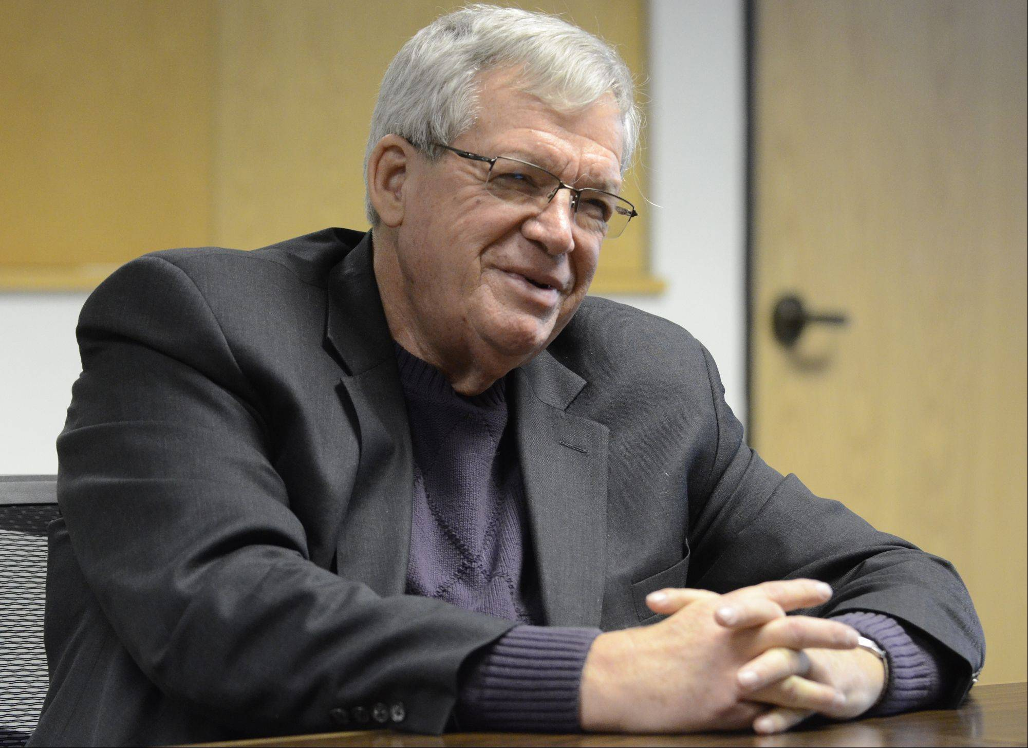 Former speaker of the House Dennis Hastert talks about his work ahead as his government office formally closes at the end of this year.
