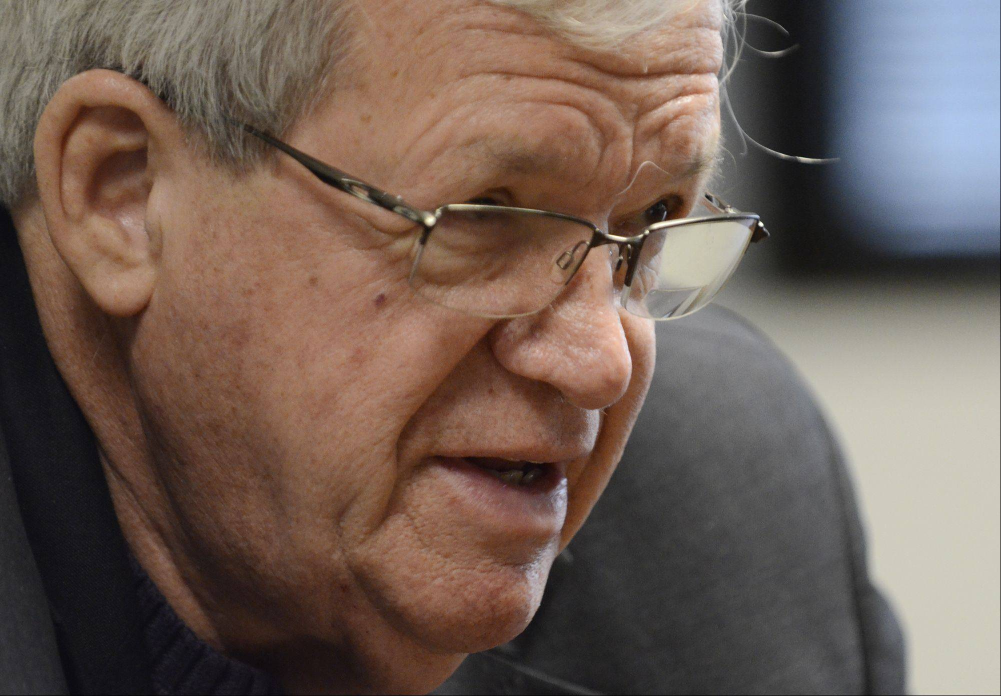 Former speaker of the House Dennis Hastert reflects on his 30-plus year political career and what lies ahead for him as a teacher, adviser and lobbyist.
