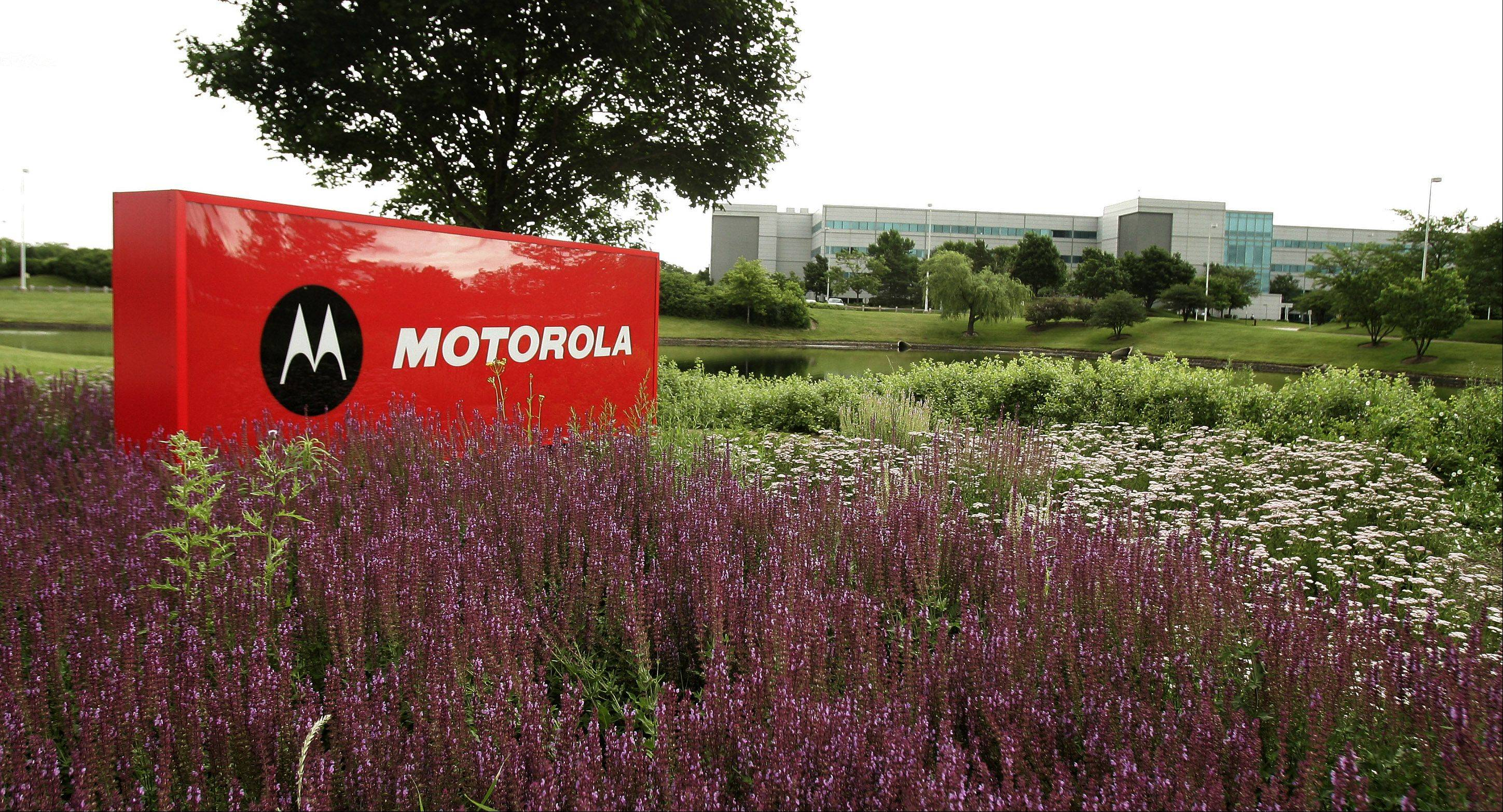 Motorola Mobility in Libertyville is expected to move to Chicago in late 2013.