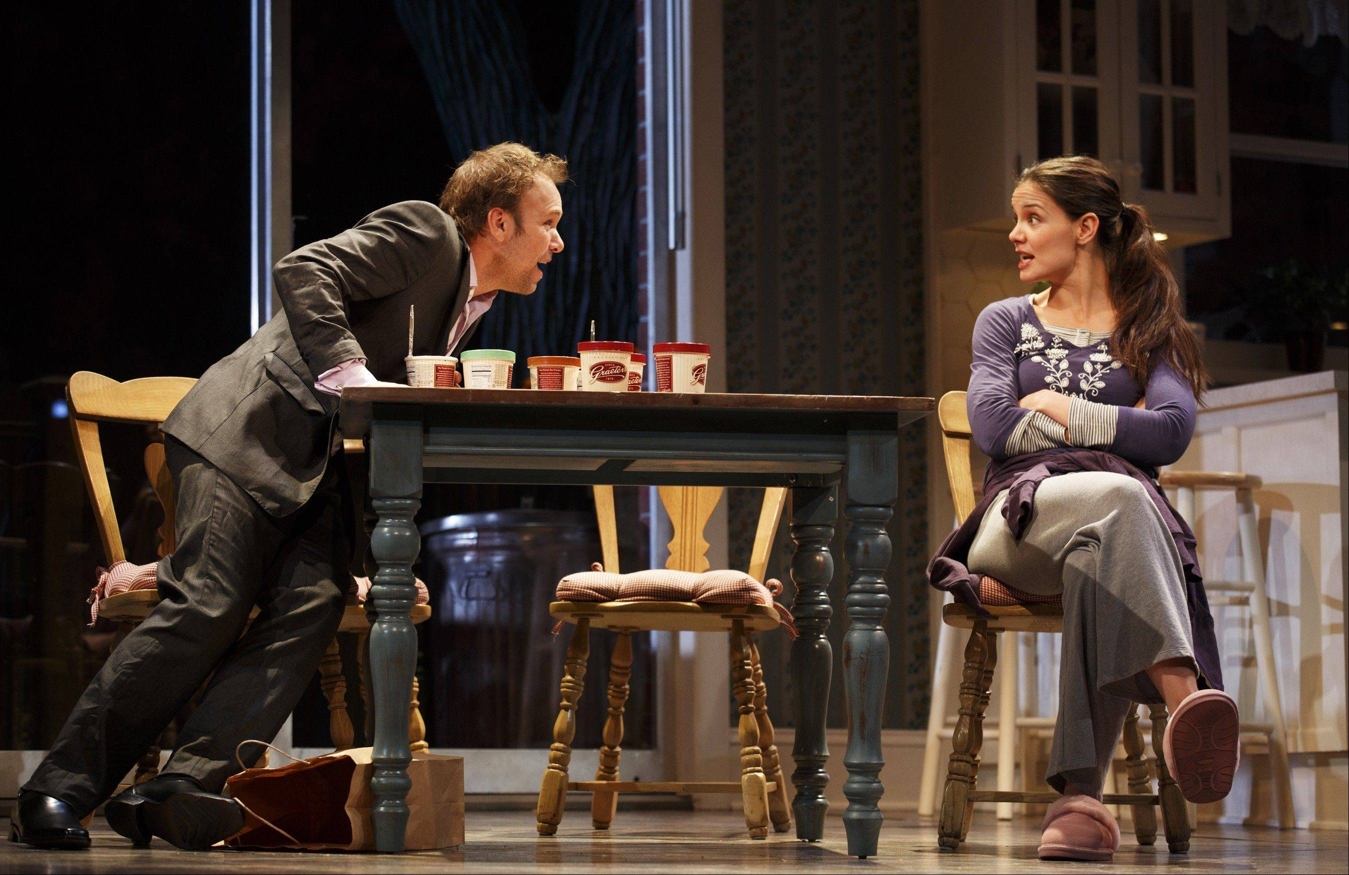 "Katie Holmes' play ""Dead Accounts"" will close within a week of the new year."