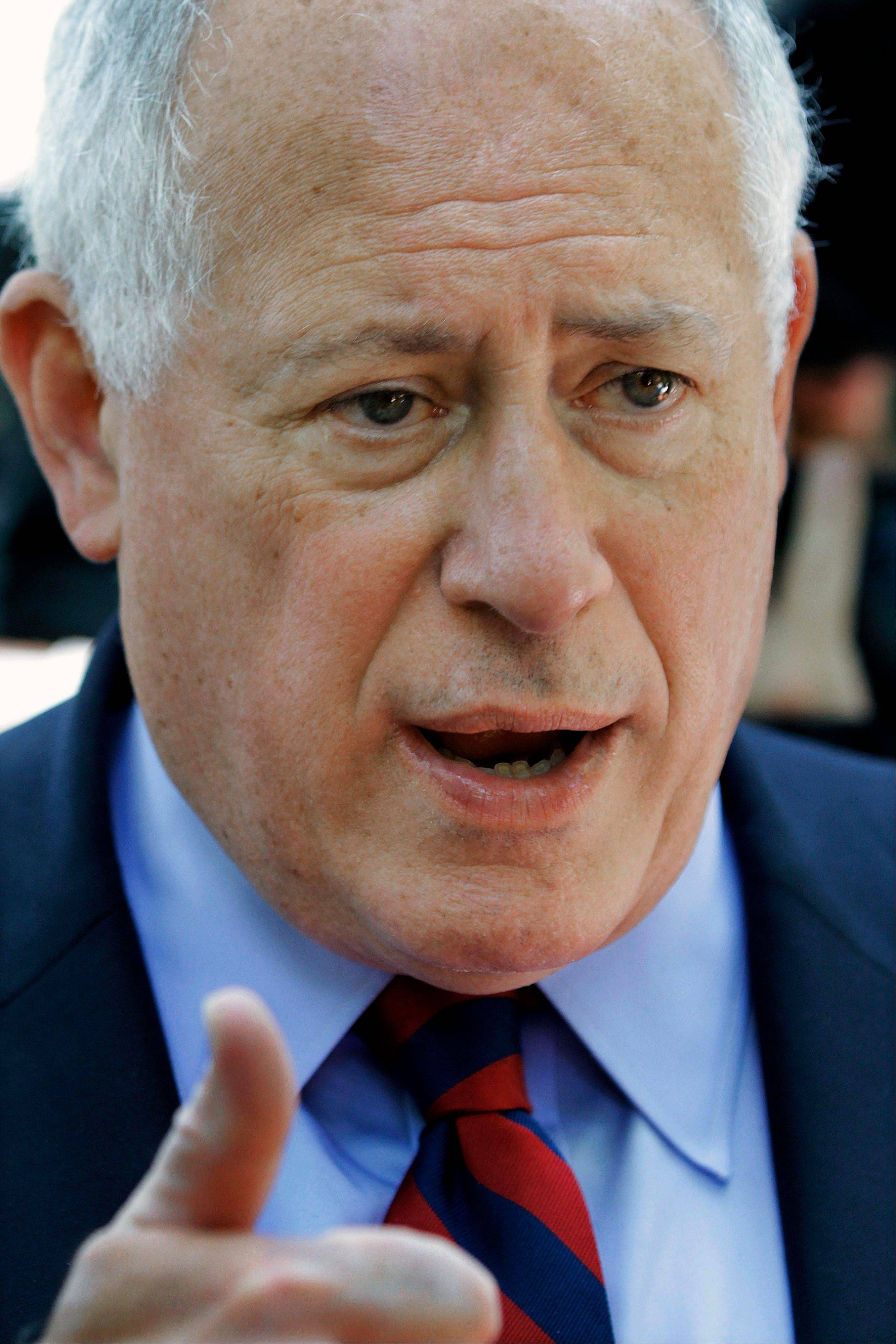 Quinn: Pension crisis is Illinois' 'fiscal cliff'