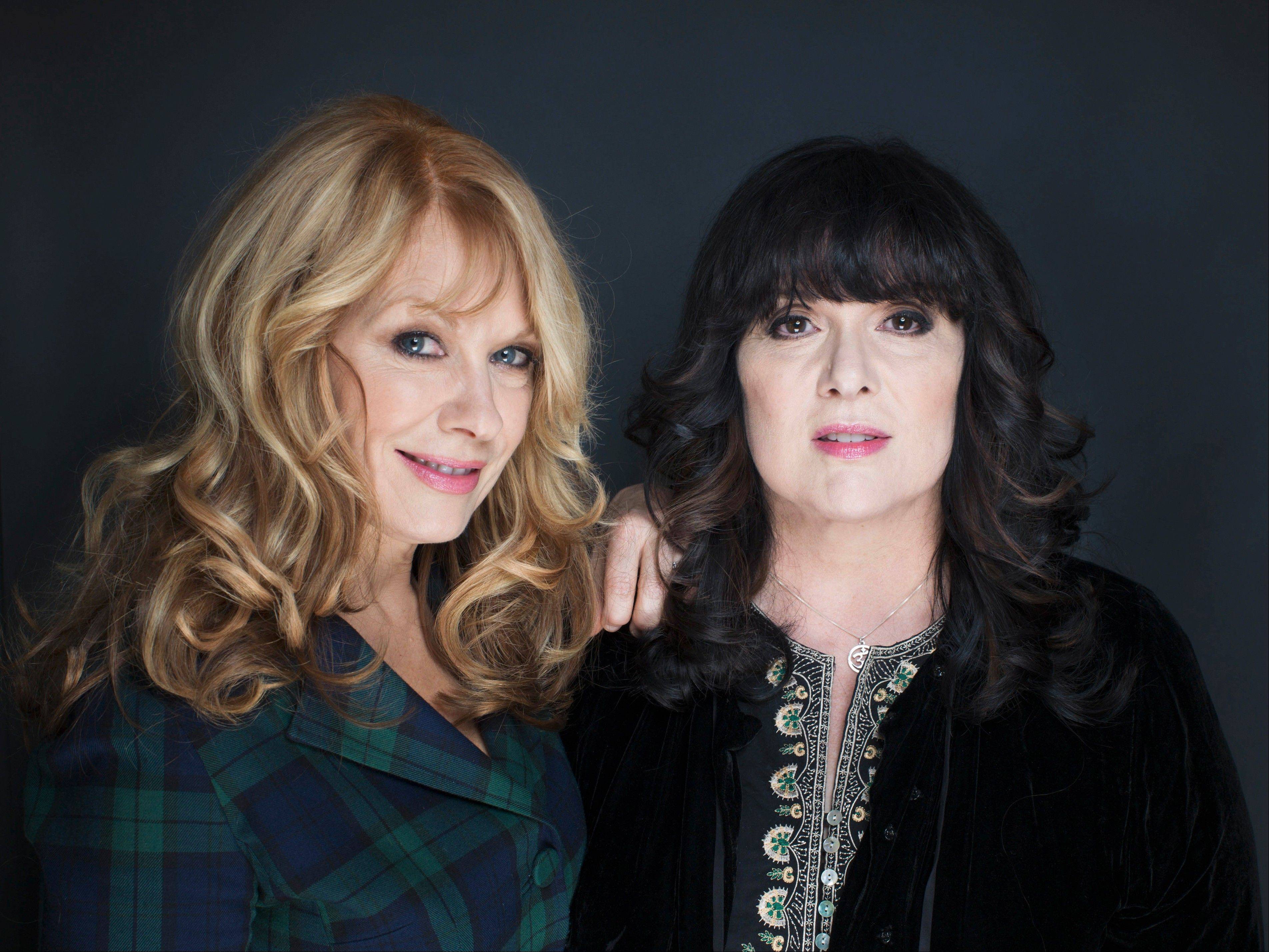 Nancy, left, and Ann Wilson of Heart will be inducted into the Rock and Roll Hall of Fame at a ceremony held in Los Angeles on April 18.
