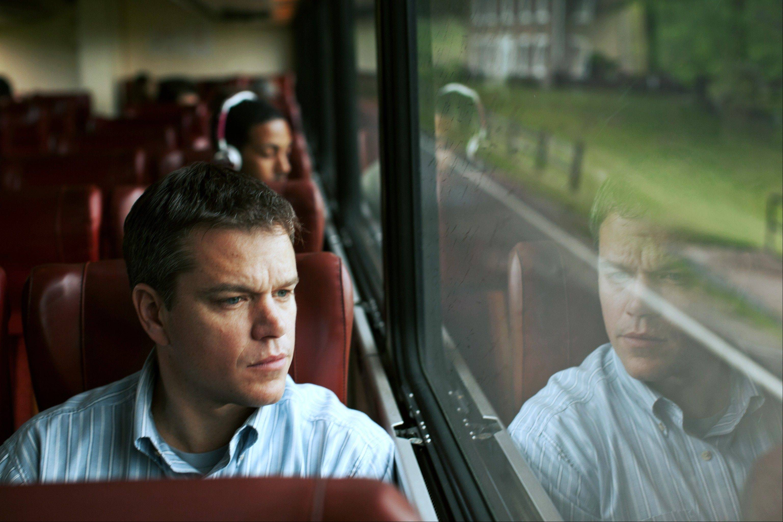 "Matt Damon stars as Steve Butler in Gus Van Sant's contemporary drama, ""Promised Land."""