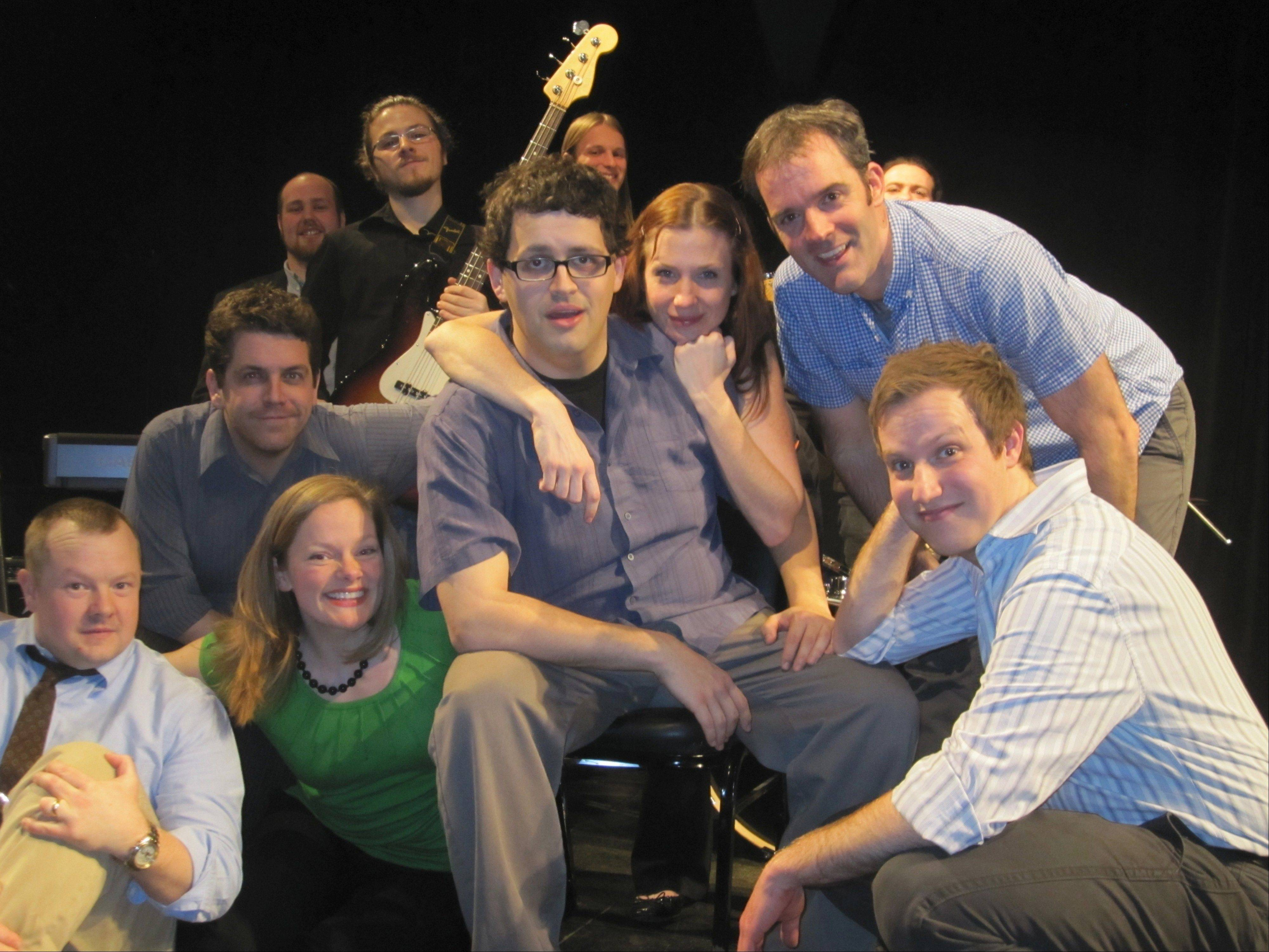The Chicago company Baby Wants Candy will stage a fully improvised musical for a special performance at Cutting Hall in Palatine.