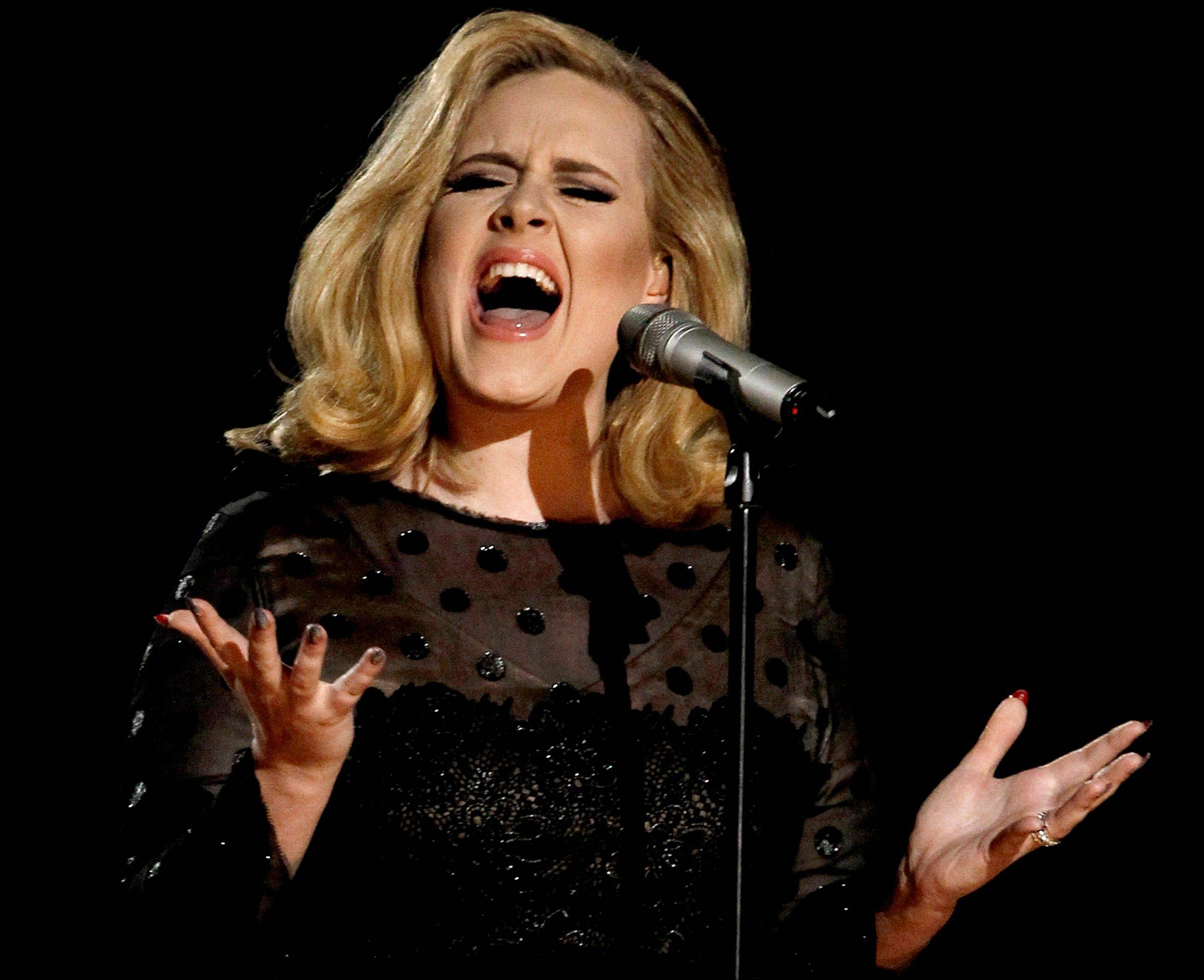 Adele�s �21� was the highest-selling album in the U.S. for the second consecutive year, according to 2012 sales figures released by Nielsen SoundScan on Thursday.