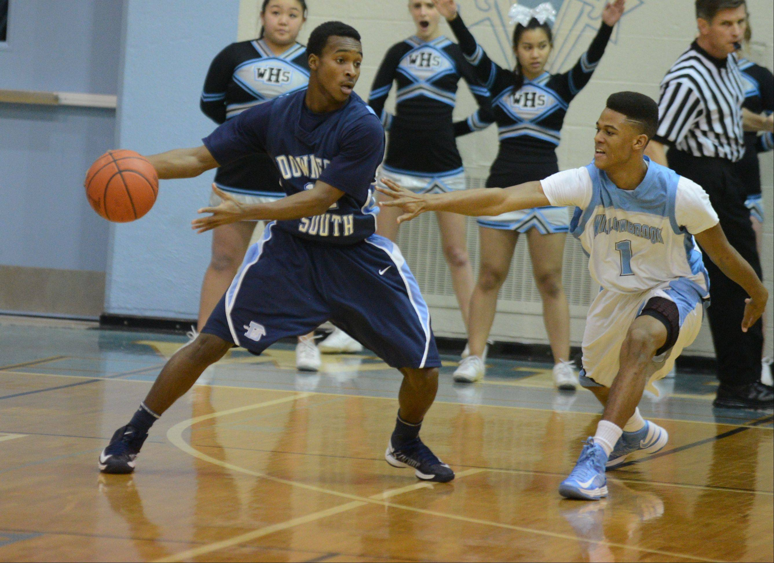 Images from the Willowbrook vs. Downers Grove South boys basketball game on Friday, Jan. 4, 2013.