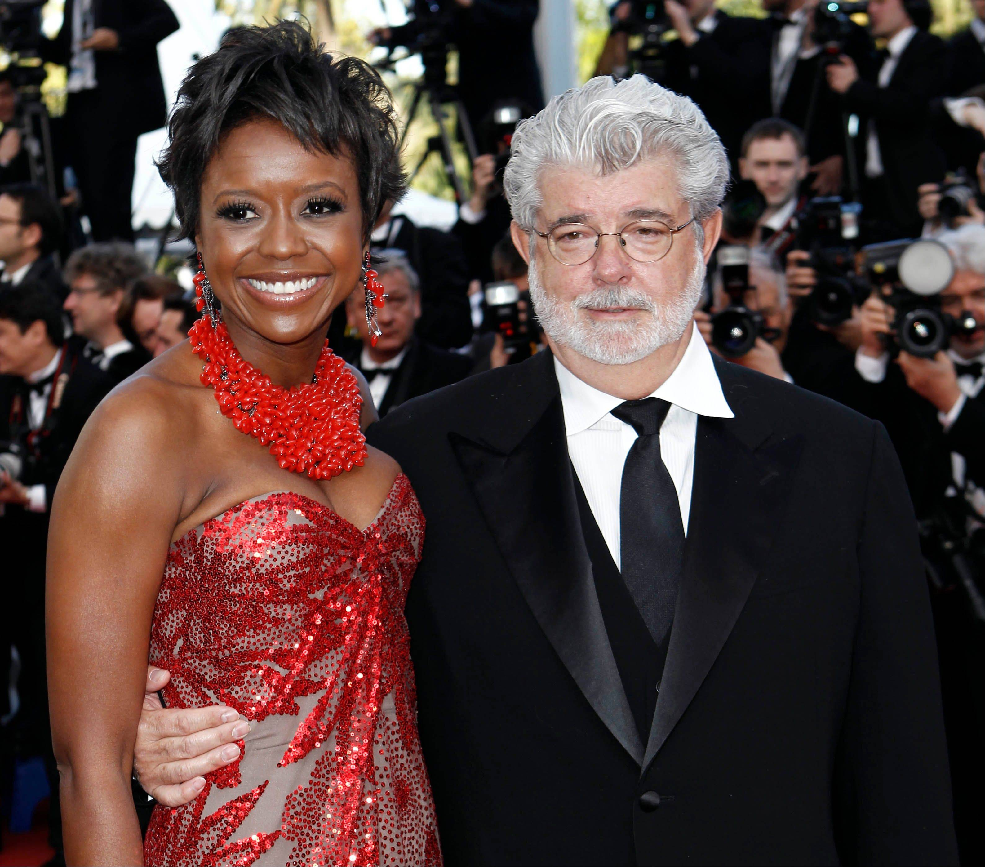 Filmmaker George Lucas recently got engaged to investment firm president Mellody Hobson.