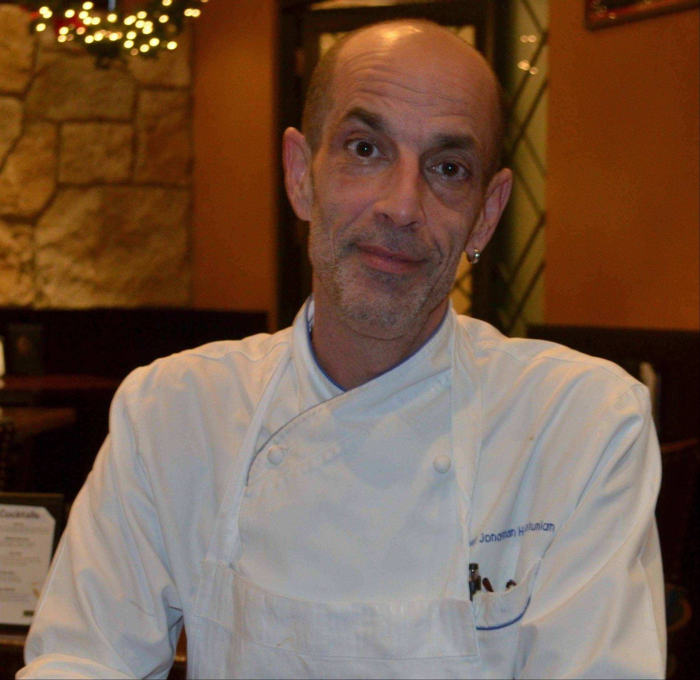 Carlucci welcomes a new chef, Jonathan Harootunian.