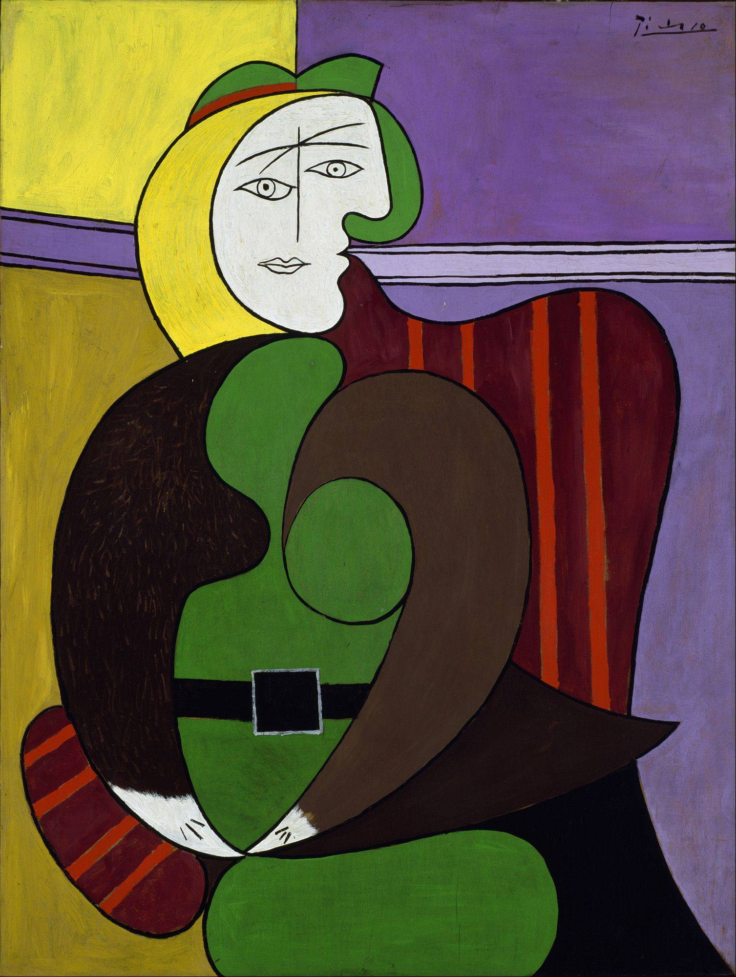"Pablo Picasso's ""The Red Armchair"" is part of a special Art Institute of Chicago exhibit celebrating the city's relationship to the famed Spanish artist."