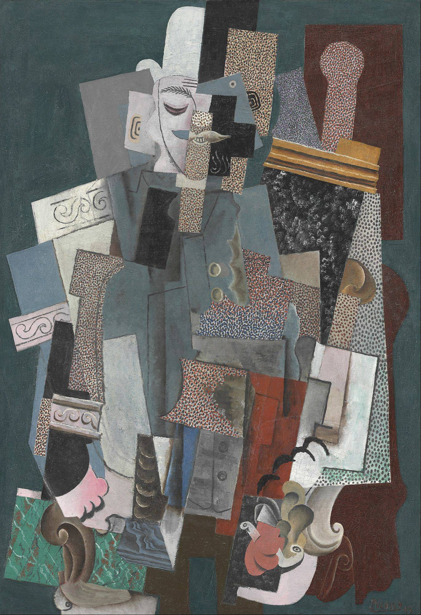 "Pablo Picasso's ""Man with a Pipe"" is part of a special Art Institute of Chicago exhibit celebrating the city's relationship to the famed Spanish artist."