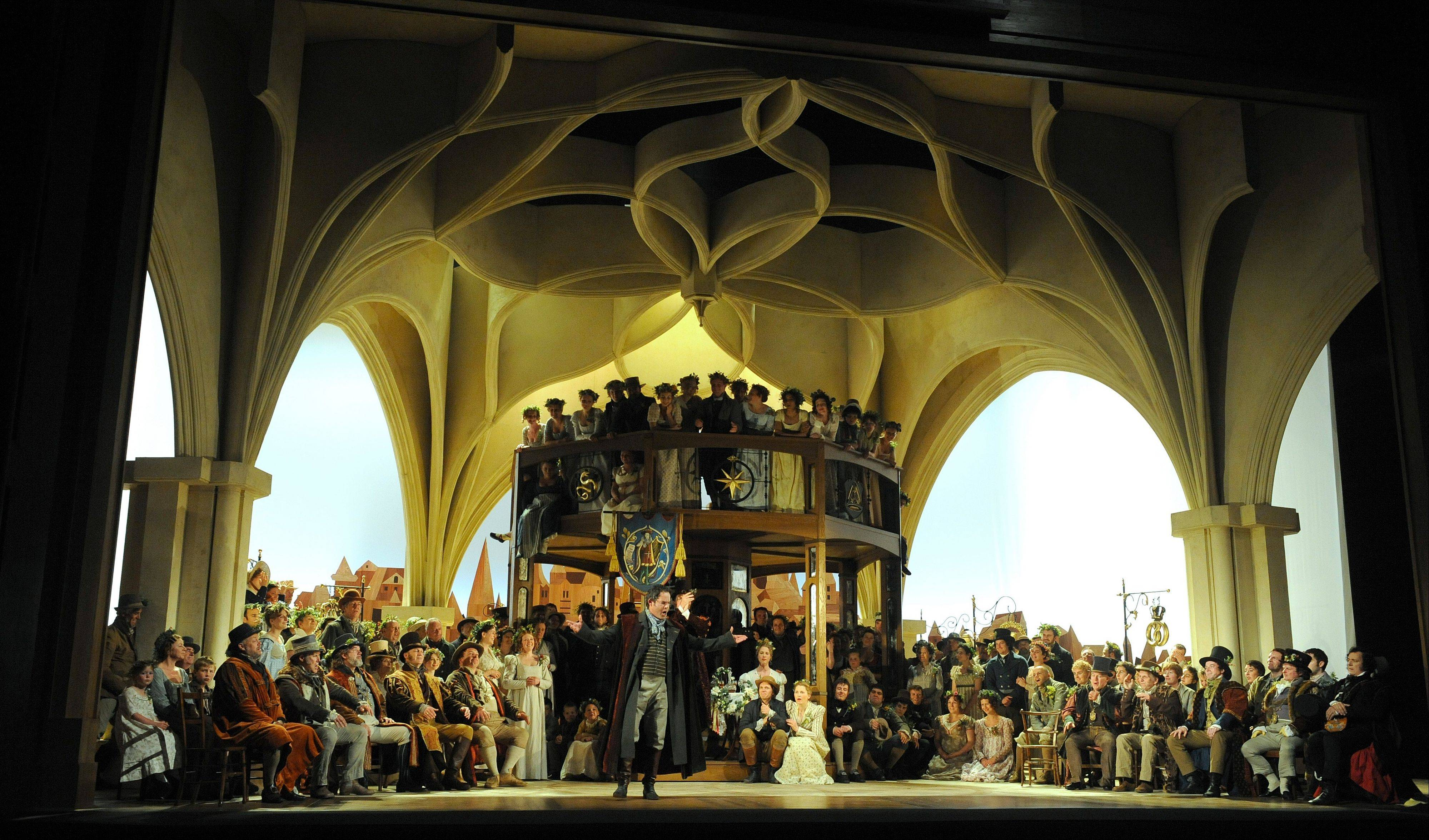 "A new coproduction of ""Die Meistersinger von Nuremberg"" by director David McVicar plays the Lyric Opera of Chicago to commemorate the 200th anniversary of composer Richard Wagner."