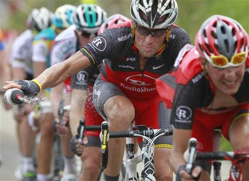 The New York Times is reporting Friday that Lance Armstrong -- who has strongly denied the doping charges that led to him being stripped of his seven Tour de France titles -- has told associates he is considering admitting he used performance-enhancing drugs.