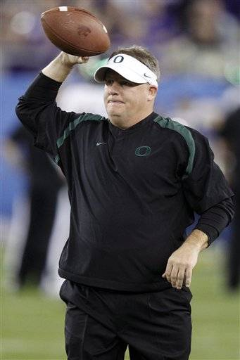 A person familiar with the negotiations says the Cleveland Browns are close to a deal with Oregon's Chip Kelly to become their next coach.