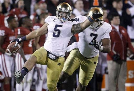 Nix, Tuitt a contrast in defensive styles for Notre Dame
