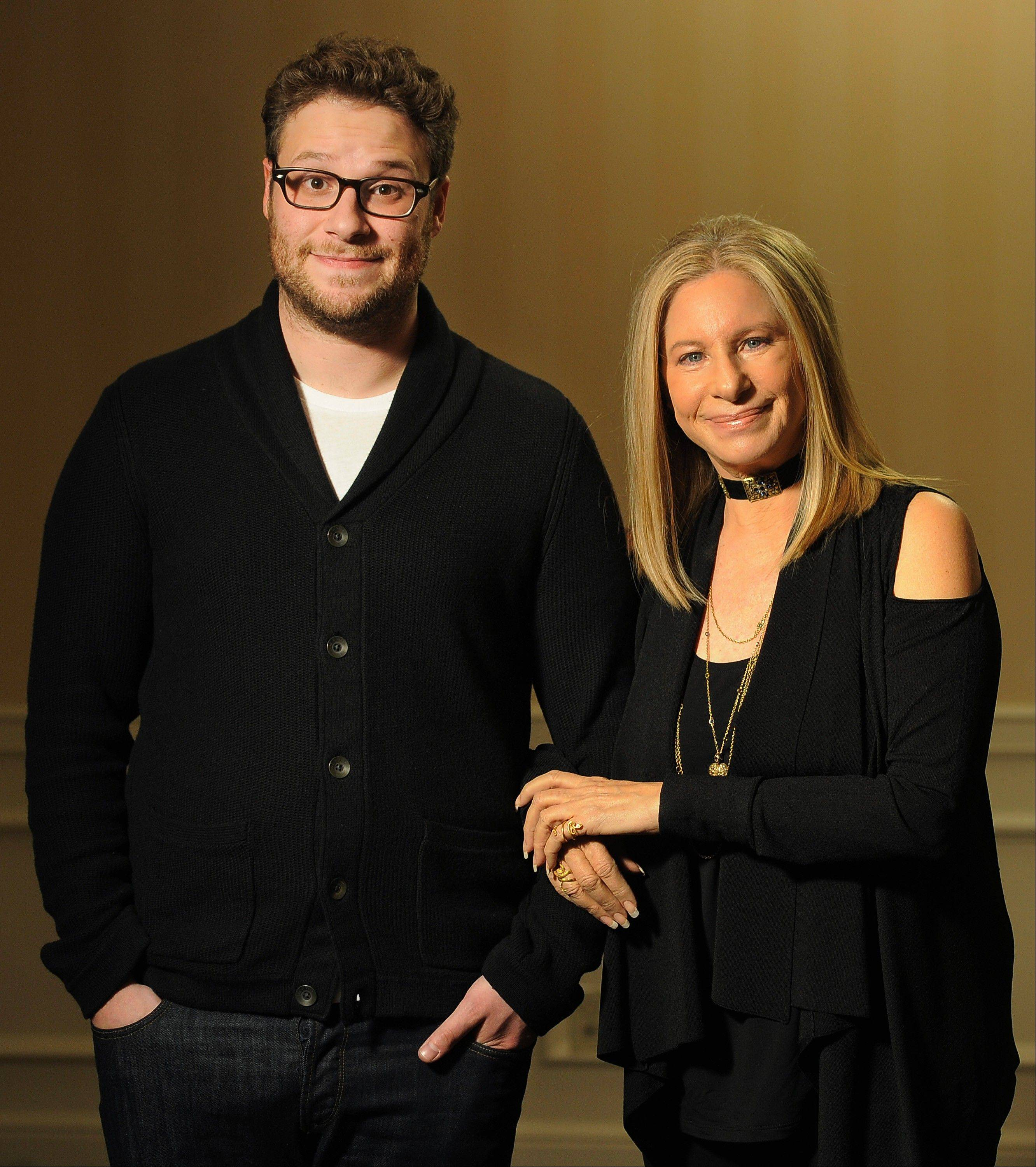 "Seth Rogen and Barbra Streisand approach work similarly, they say, and they really became like mother and son on the set of ""The Guilt Trip."""