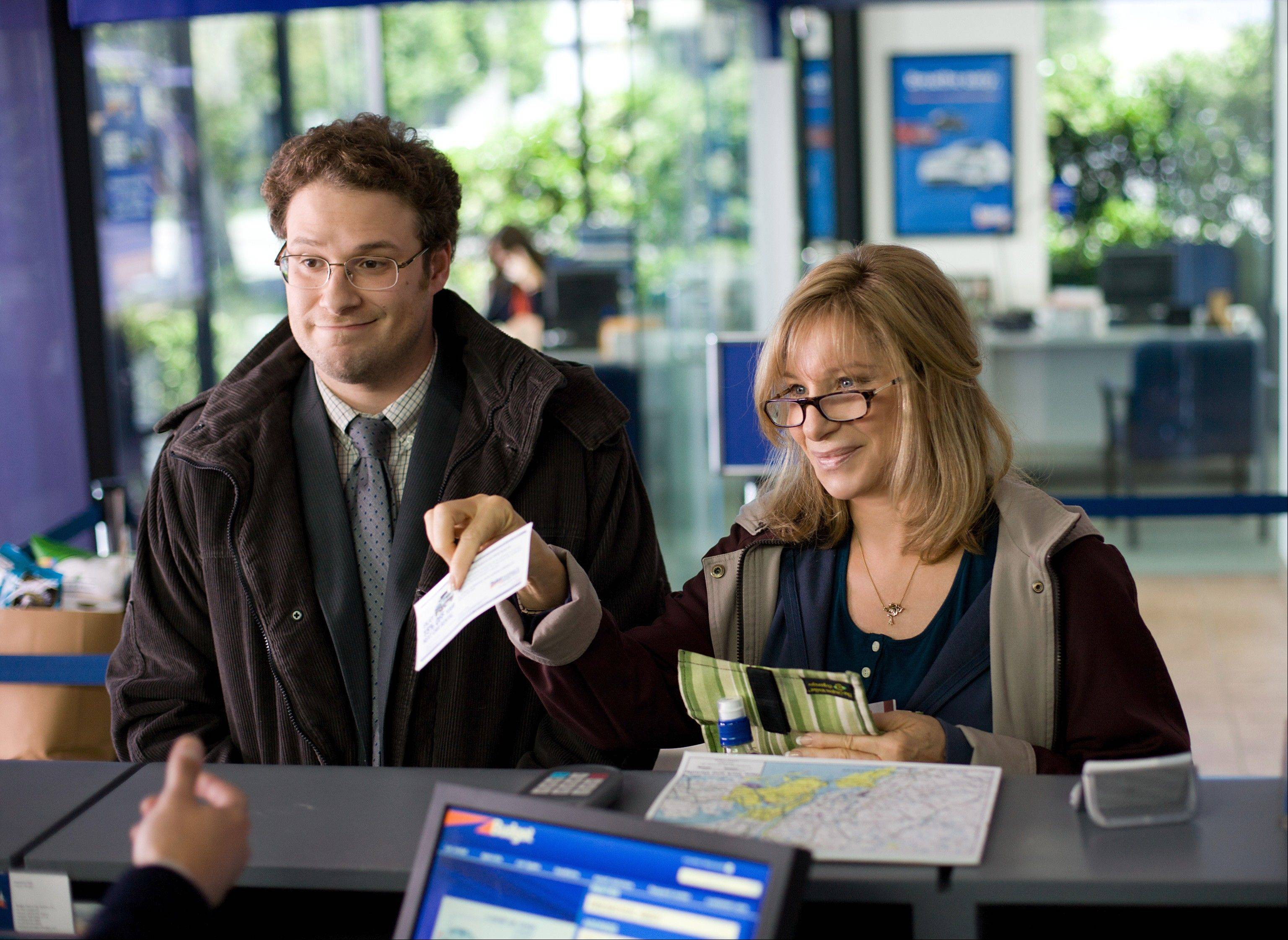 "In ""The Guilt Trip,"" a loving but meddling mom (Barbra Streisand) sees the bonding opportunity of a lifetime when her only son, Andy (Seth Rogen), invites her on a cross-country road trip."