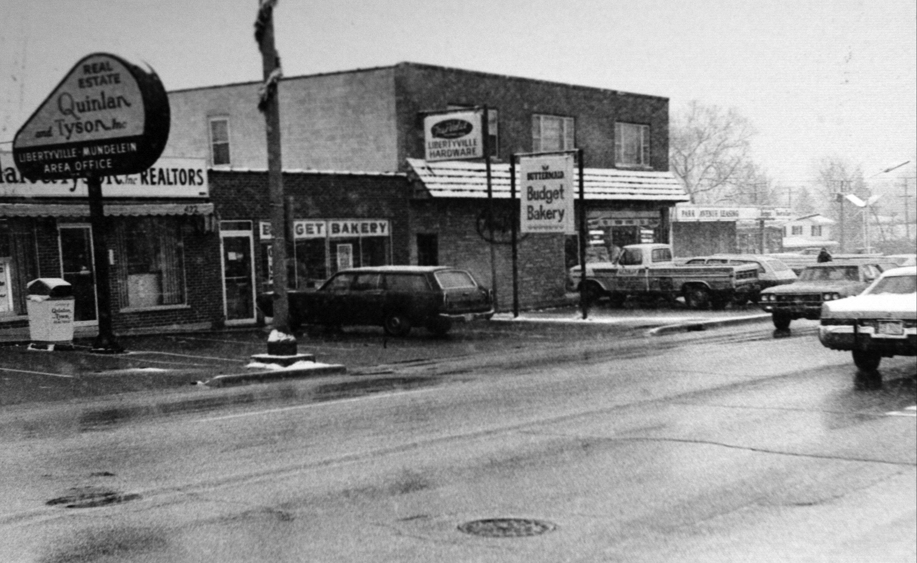The Libertyville True Value hardware store has been operated by the LeJeune family since 1967. This photo is from the 1970s.