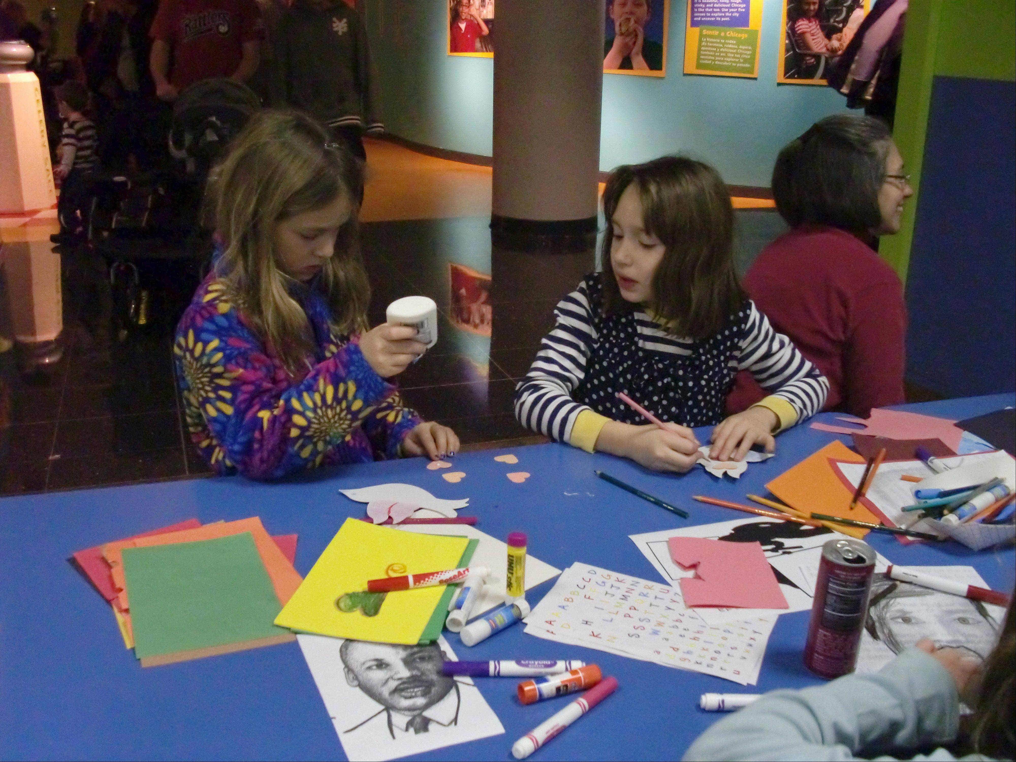 The Chicago History Museum hosts a variety of activities for families during Discover Chicago.