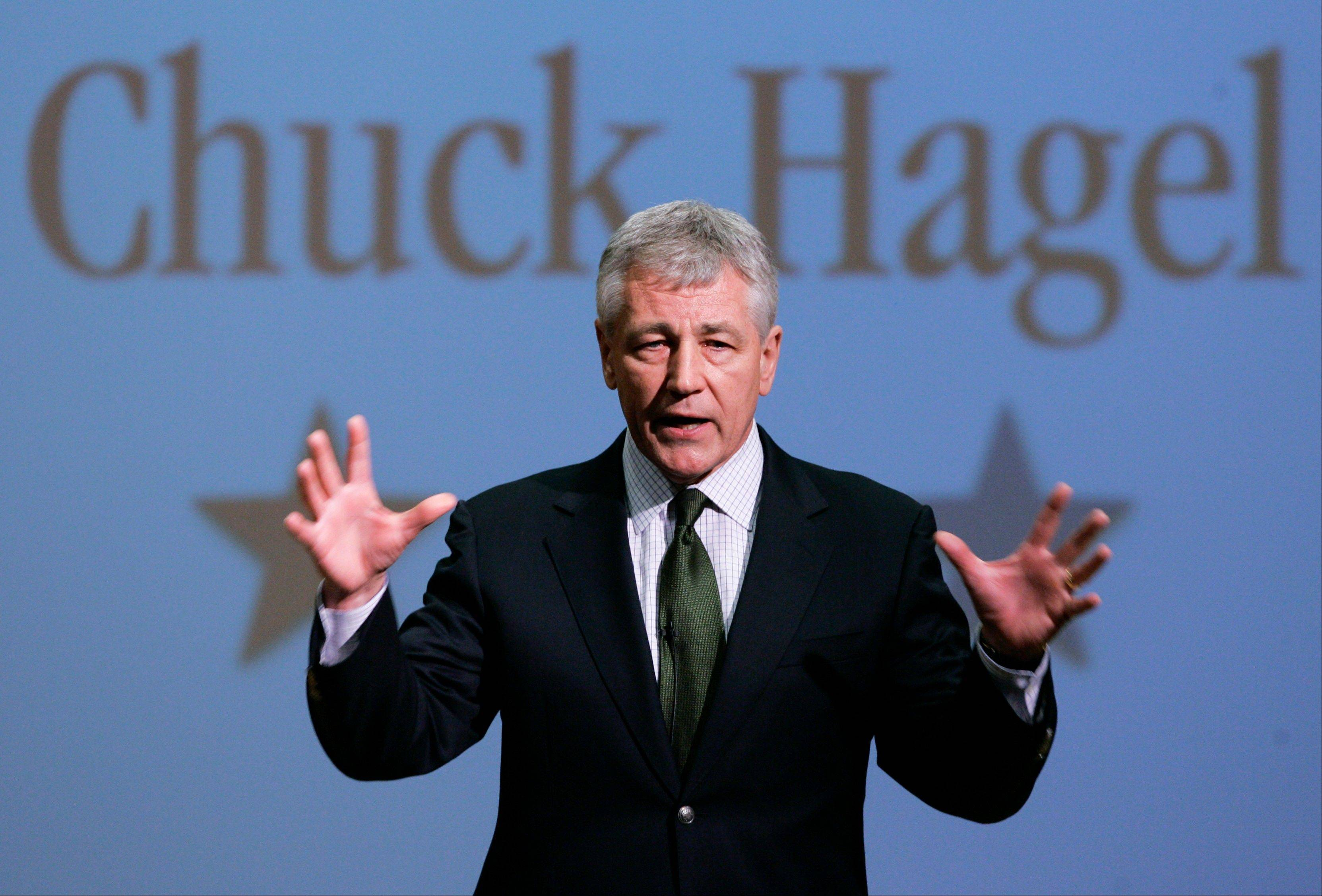 President Barack Obama will nominate former Sen. Chuck Hagel of Nebraska as his next defense secretary, a senior administration official said Sunday.