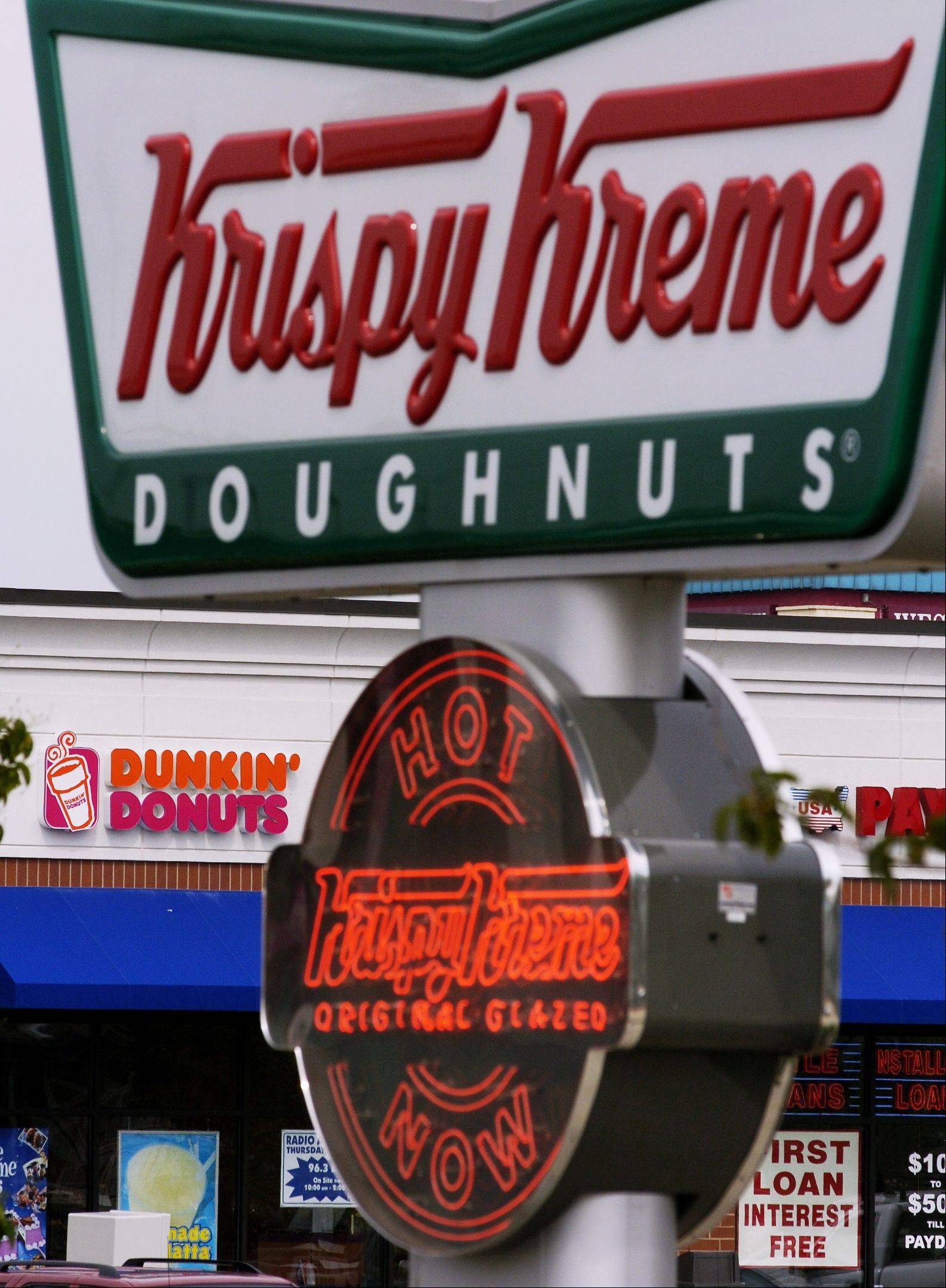 Krispy Kreme returned to profit in fiscal 2011 after six straight years of losses, data compiled by Bloomberg show.