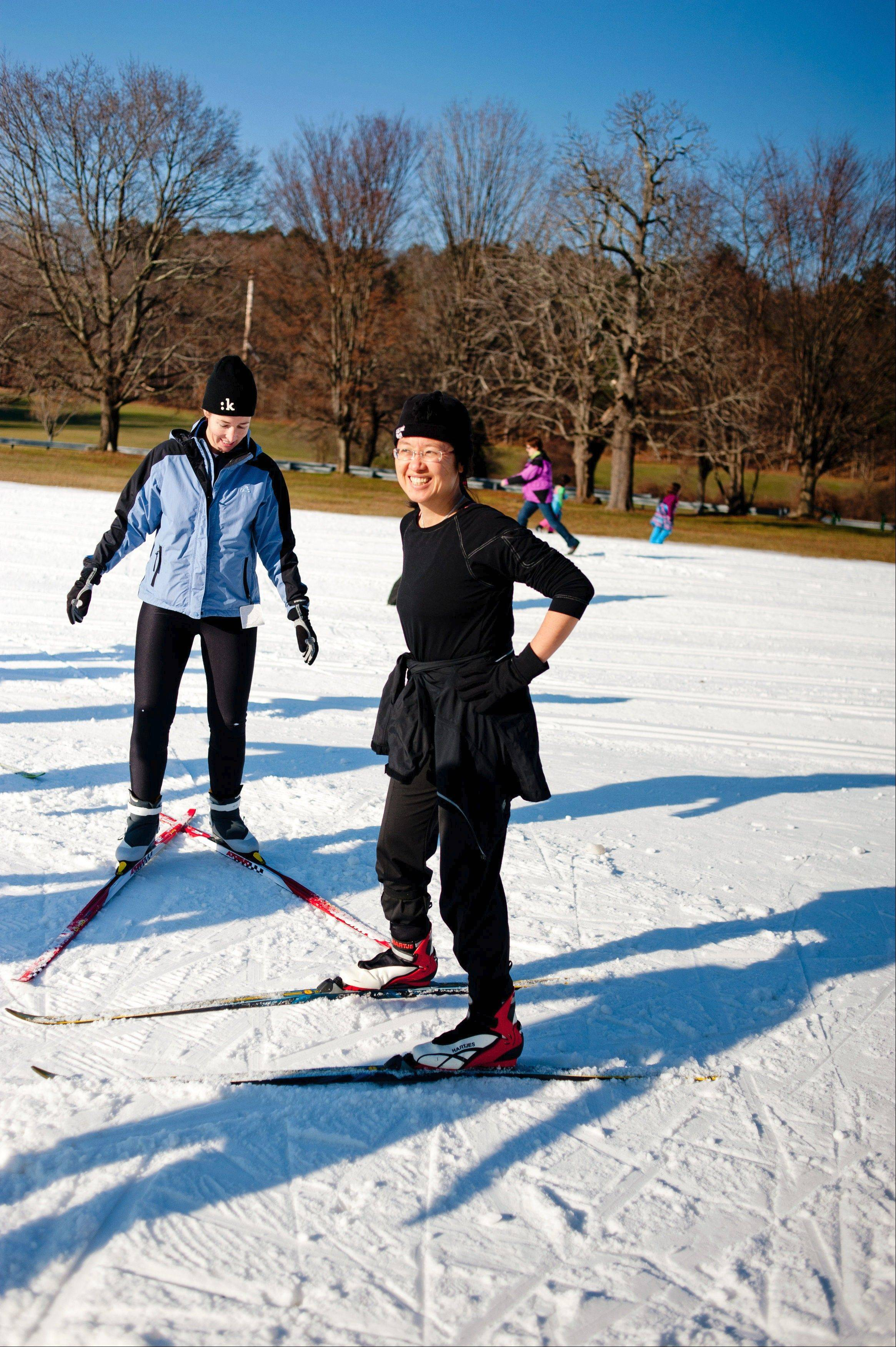 The 18th annual Winter Trails Day offers opportunities to learn how to ski and snowshoe.
