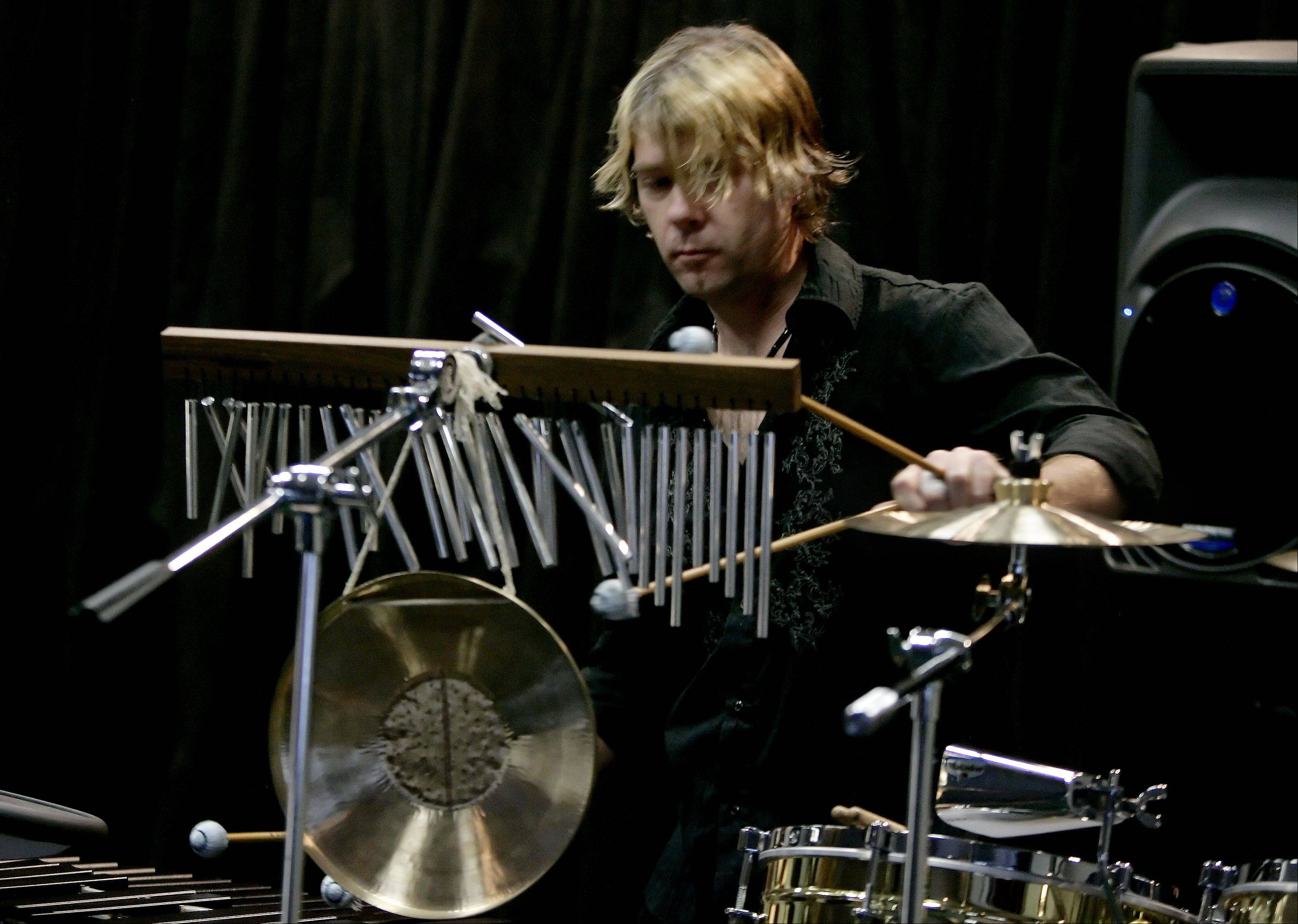 "Composer and performing artist Tom Sharpe will deliver the keynote address, ""Tom Sharpe's World Music that Rocks!"" during North Central College's 13th annual Self Employment in the Arts Conference. Sharpe is a drummer for the Grammy Award-winning group Mannheim Steamroller and for Dennis DeYoung of Styx."