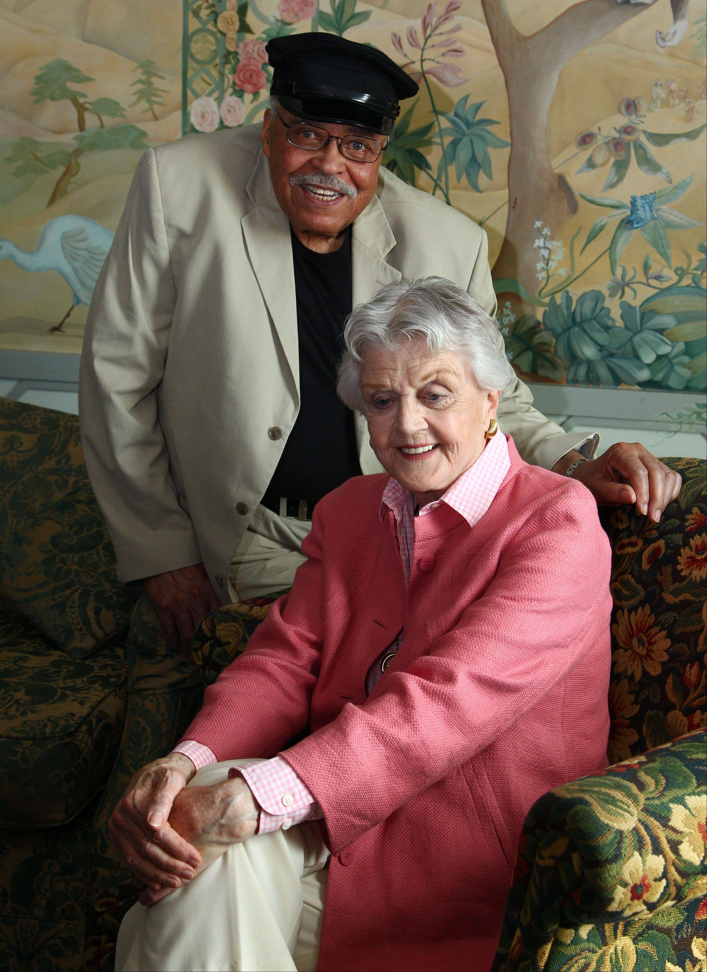 James Earl Jones and Angela Lansbury, in Australia to star in a touring production of Alfred Uhry�s Pulitzer-Prize winning play �Driving Miss Daisy,� credit the thrill of performing with their seemingly endless supply of energy, which has propelled them throughout their decades-long careers.