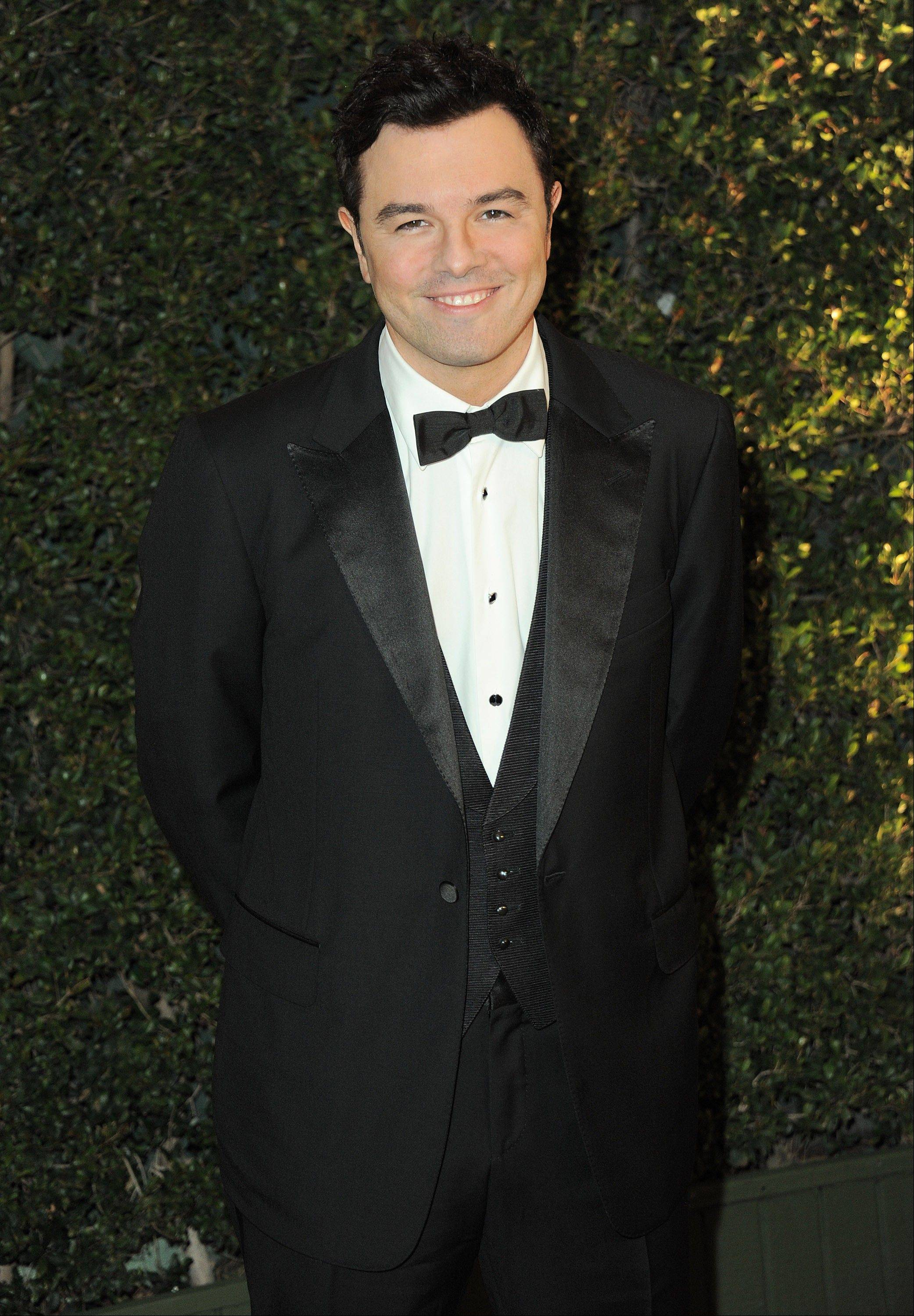 Academy officials say Oscar host Seth MacFarlane will join actress Emma Stone to reveal the nominees for the 85th annual Academy Awards Thursday.