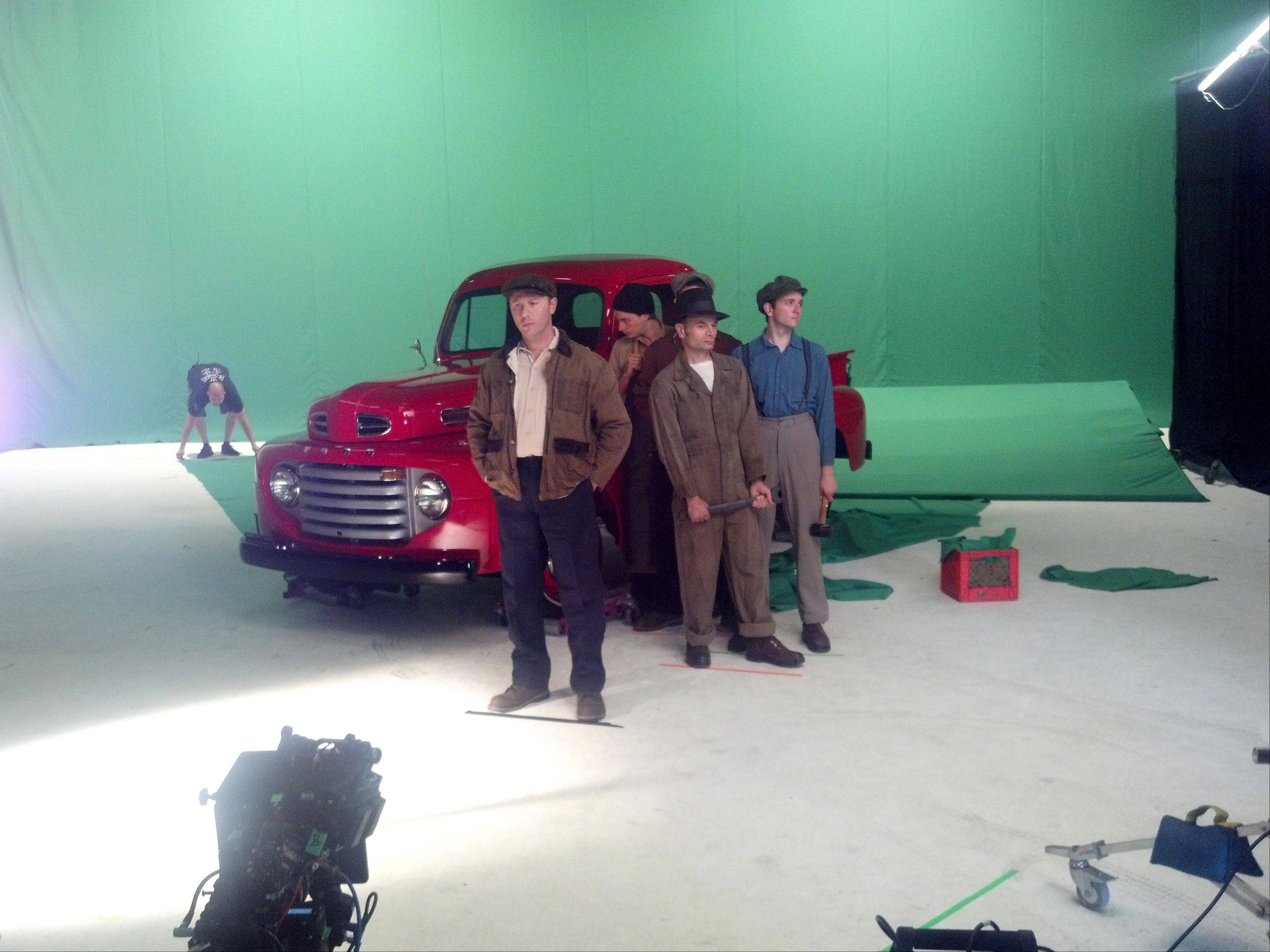 Brad Buell's pickup was recently used to film a Ford commercial that will air in Russia.