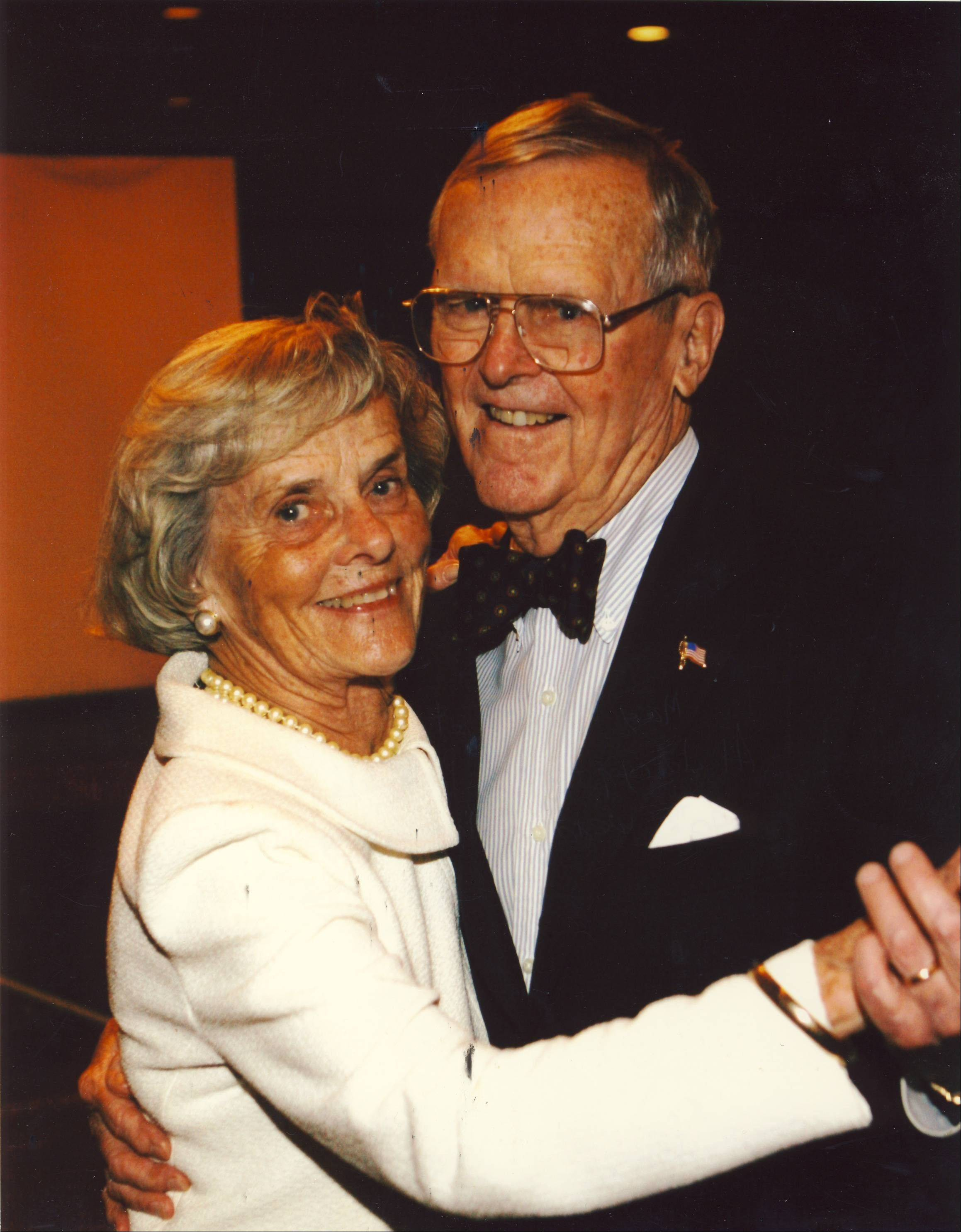 Jim and Marie Gallagher were honored at Clearbrook's 2011 Shining Star Ball.