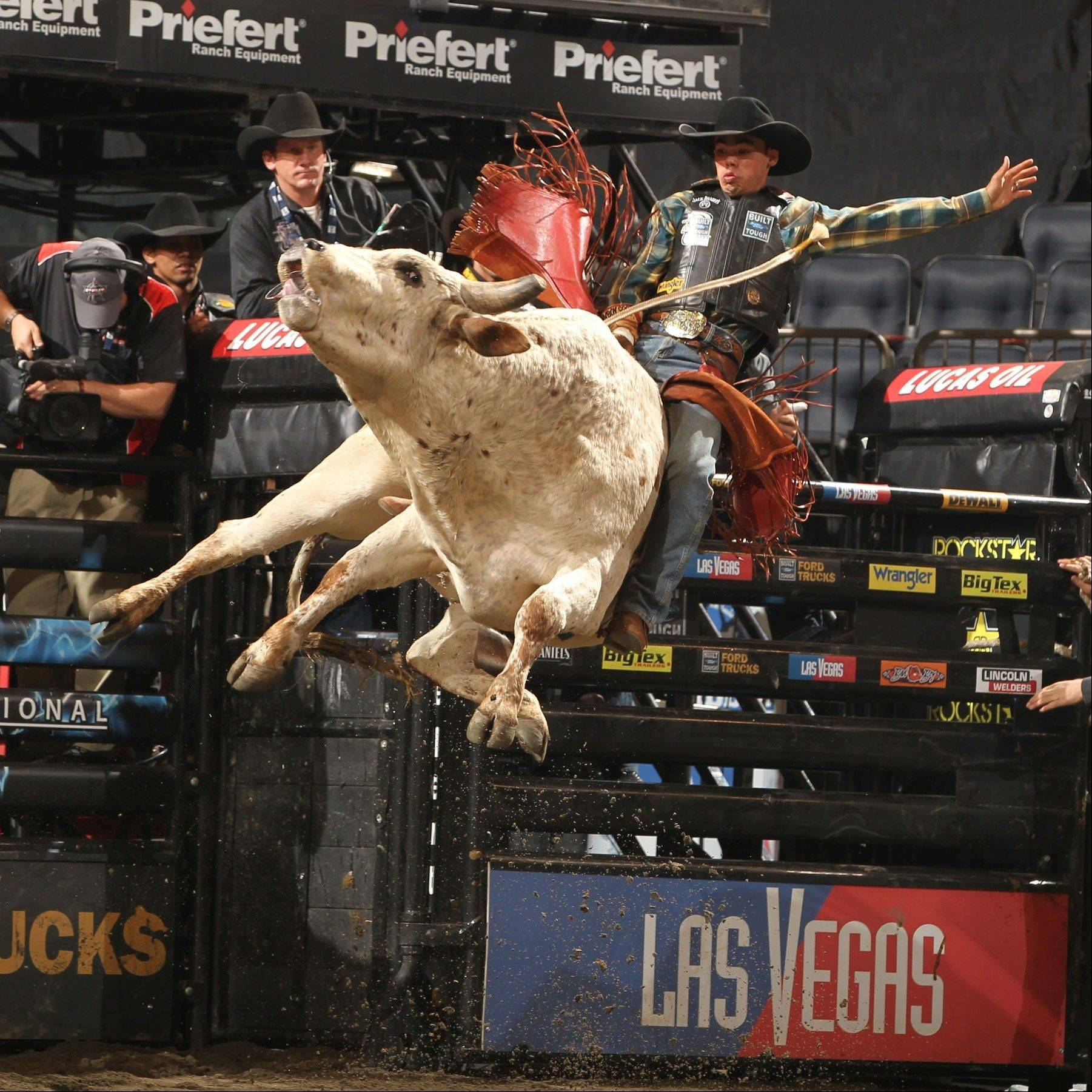 The 2013 Professional Bull Riders (PBR) Built Ford Tough Series will make a stop at the Allstate Arena in Rosemont on Saturday and Sunday, Jan. 12-13.