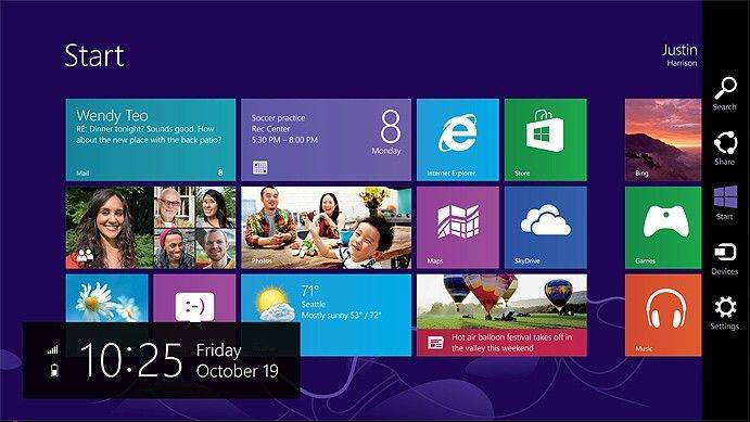 There is a solution for those with the new Windows 8 operating system, but also do not have a touch-sensitive screen.