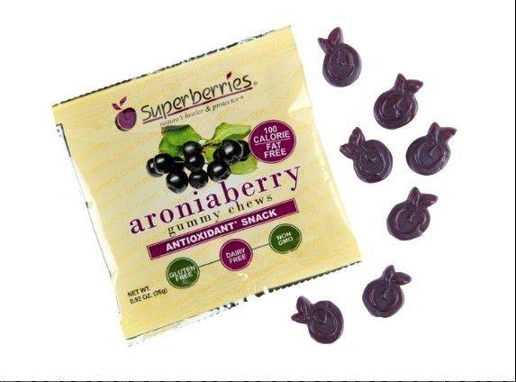 Gummy Arionaberries are high in antioxidants.