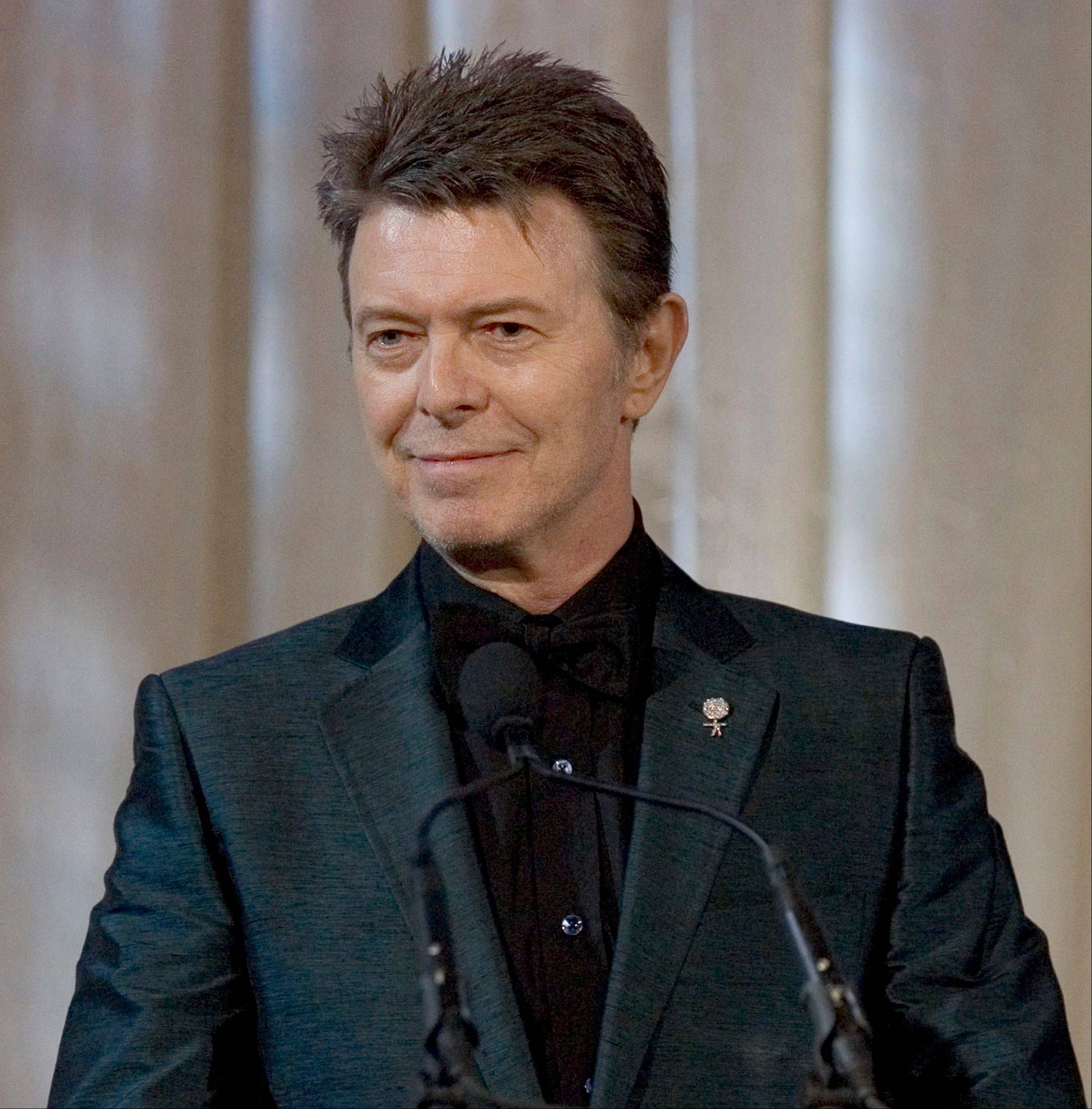 "British singer David Bowie announced Tuesday on his 66th birthday, that he has released his first song in 10 years titled ""Where Are We Now?"" A new album, ""The Next Day,"" will be out in March."