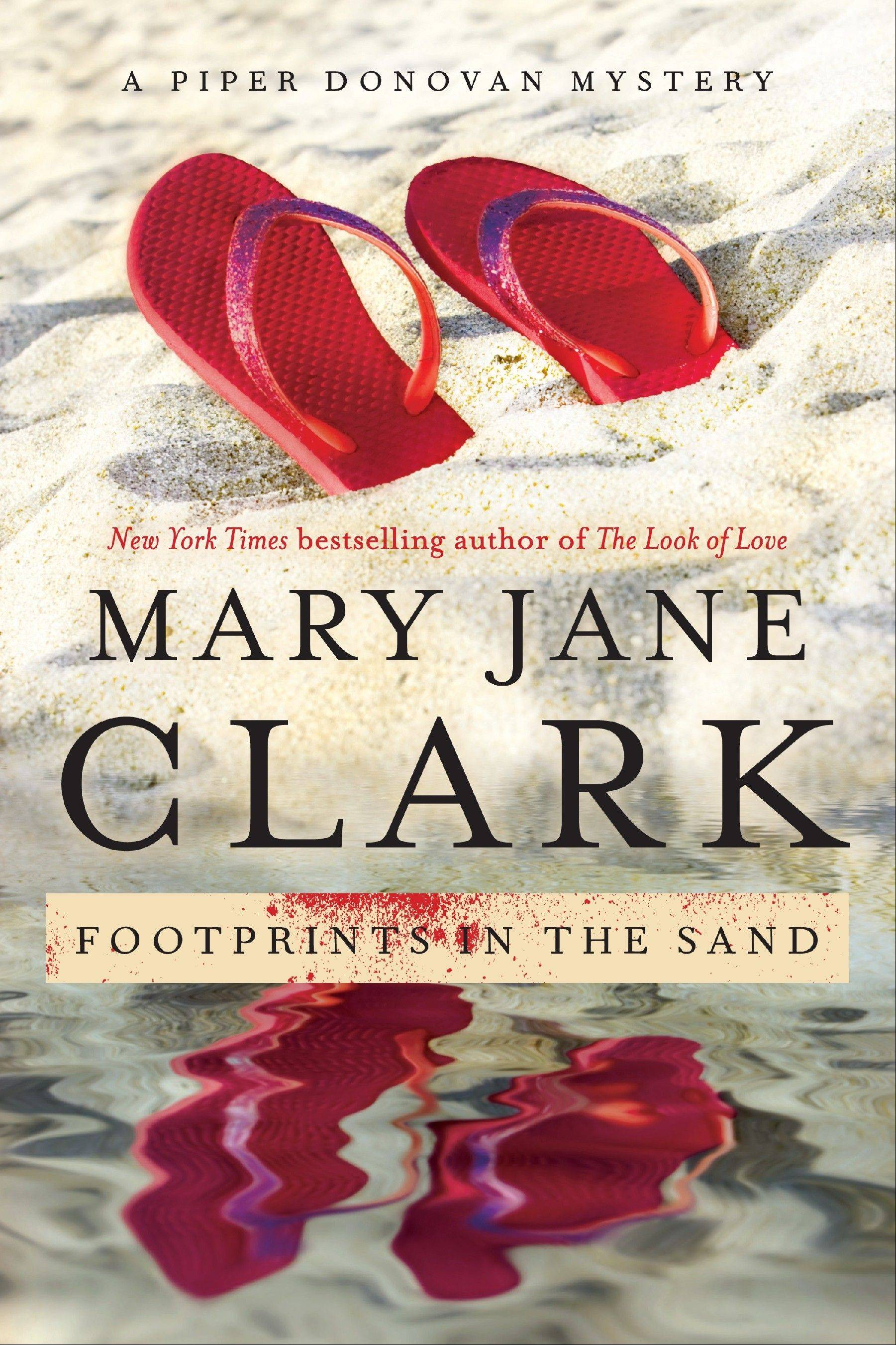 """Footprints in the Sand"" by Mary Jane Clark"