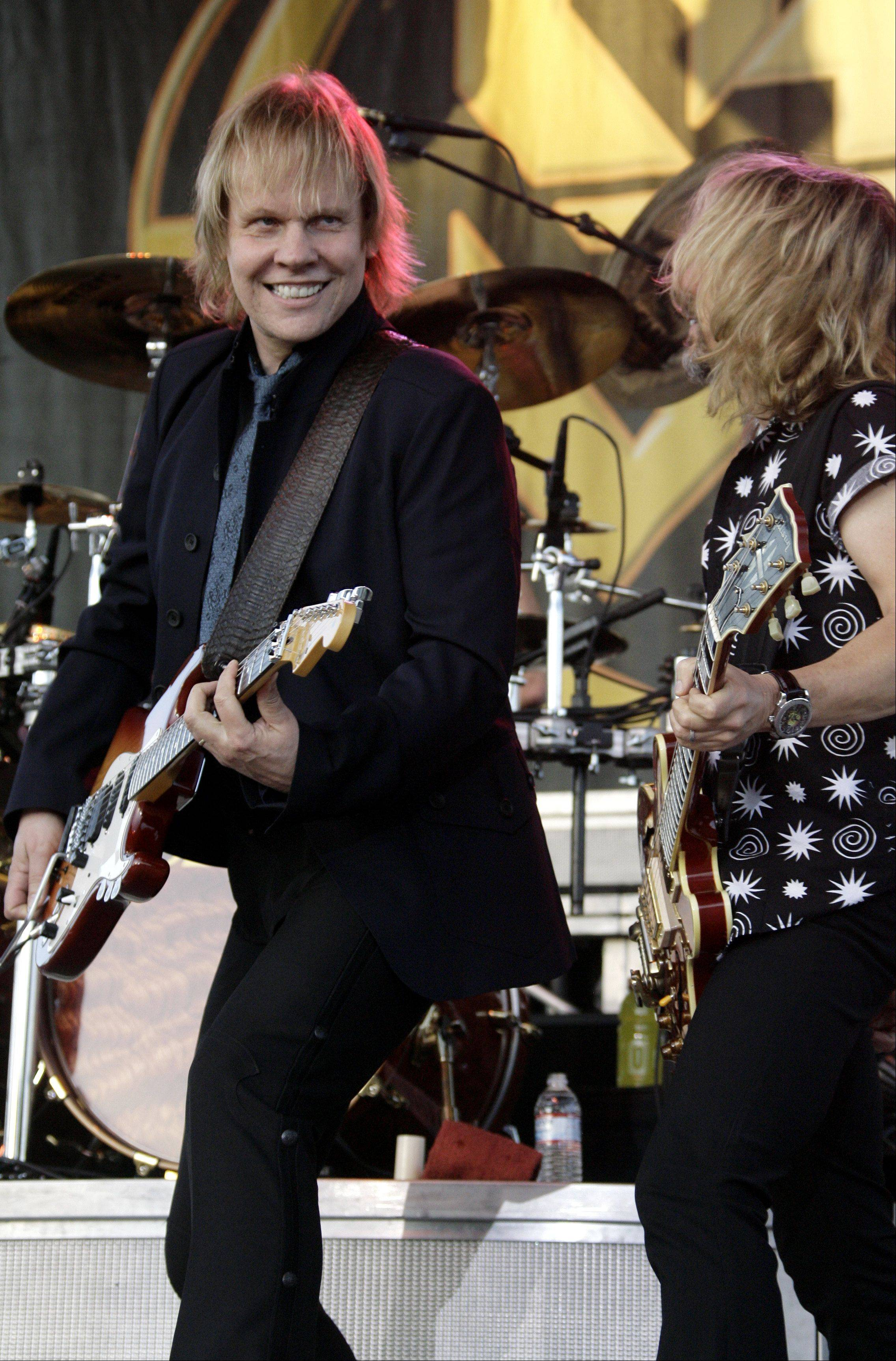 Bandmates James Young, left, and Tommy Shaw return with STYX this summer to open Naperville's Ribfest.