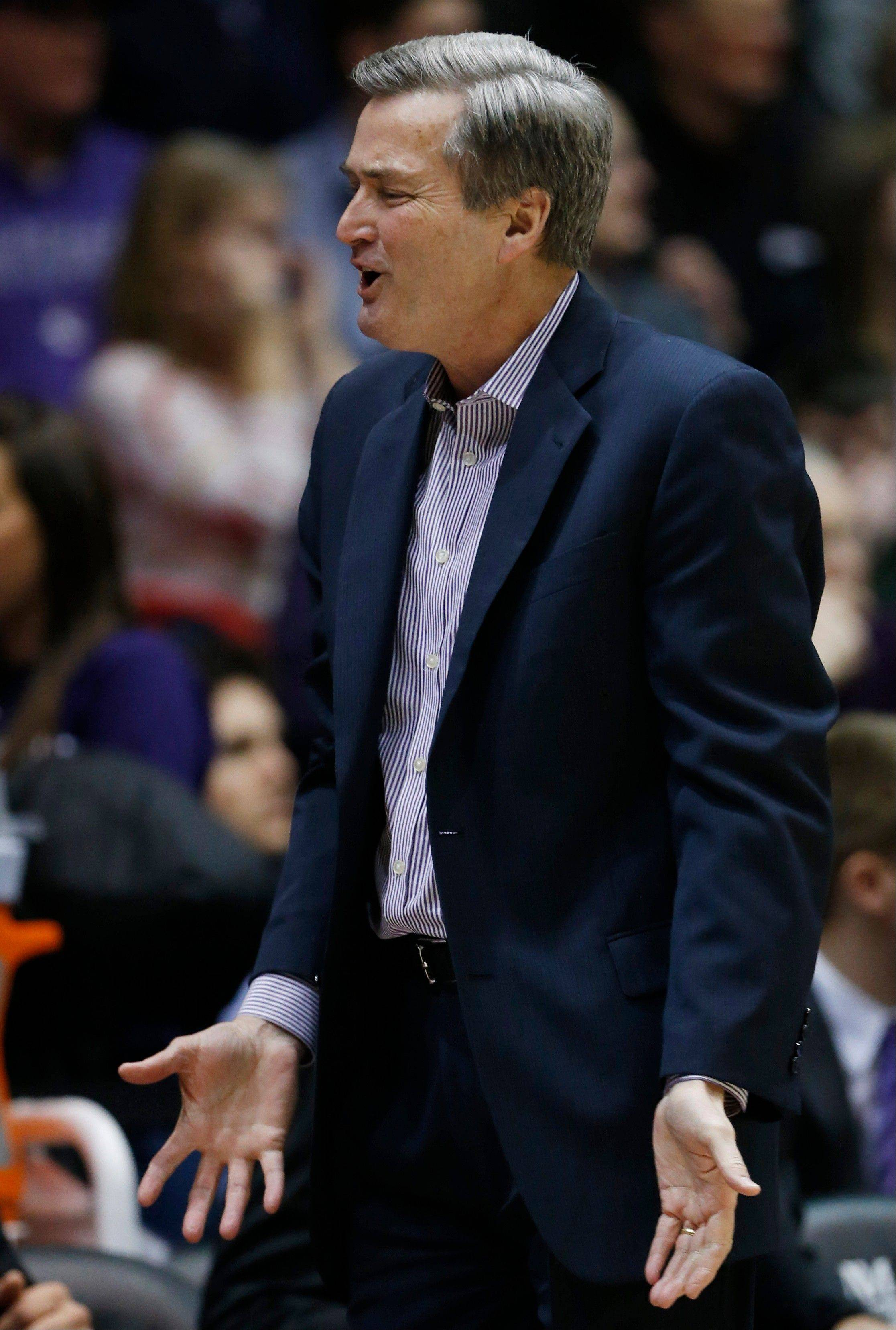 After opening the Big Ten season with loses to highly ranked Michigan and Minnesota, Bill Carmody's Northwestern team has fallen to 9-6 on the season. The Wildcats have gone 3-6 in their last nine games.