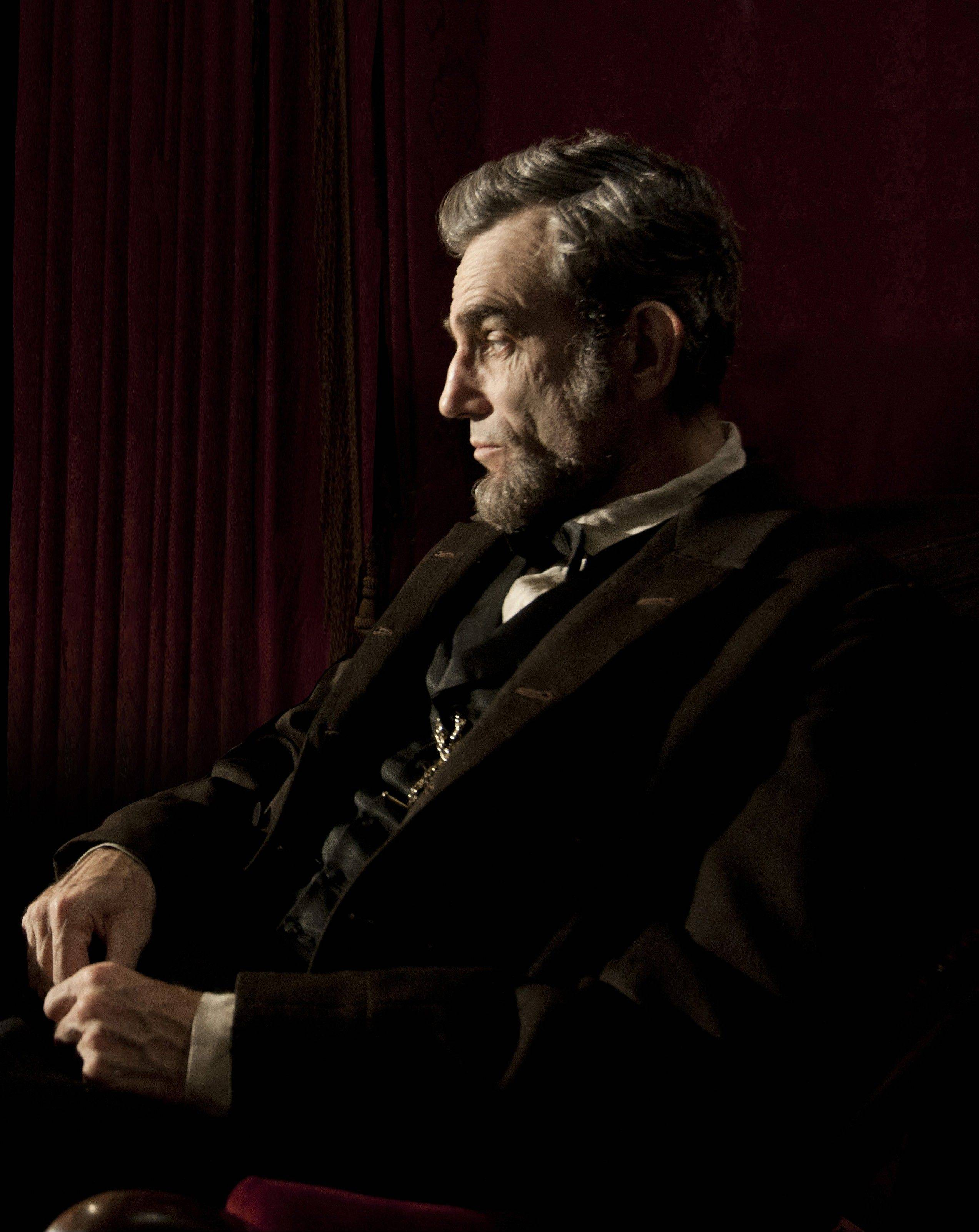 �Lincoln,� with Daniel Day-Lewis, leads the race for the British Academy Film Awards, with 10 nominations including best picture and best actor.