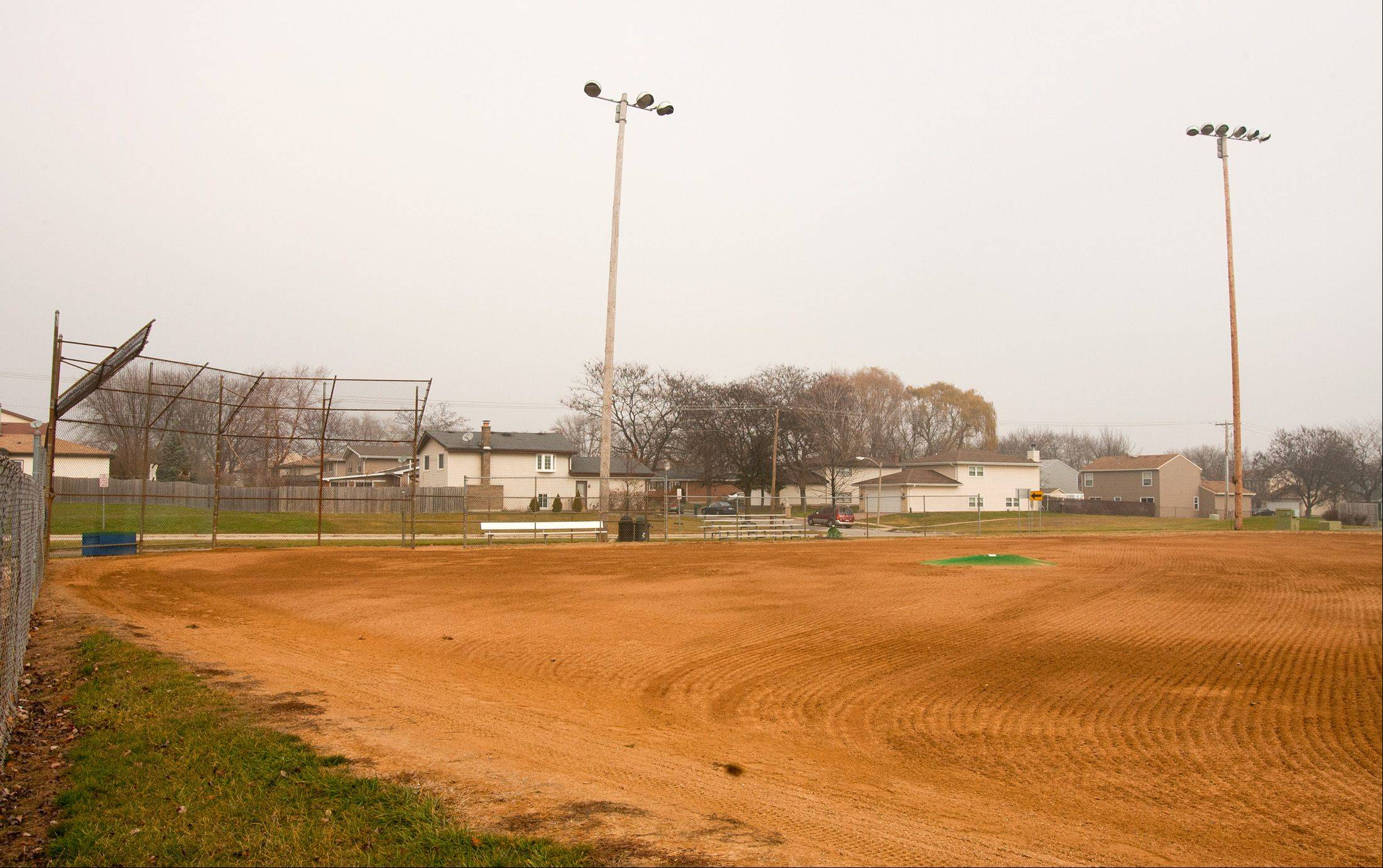 Proposed improvements to Armstrong Park in Carol Stream include renovations to Ray Nazillian Field in the park's northwest corner at an estimated cost of $190,000.