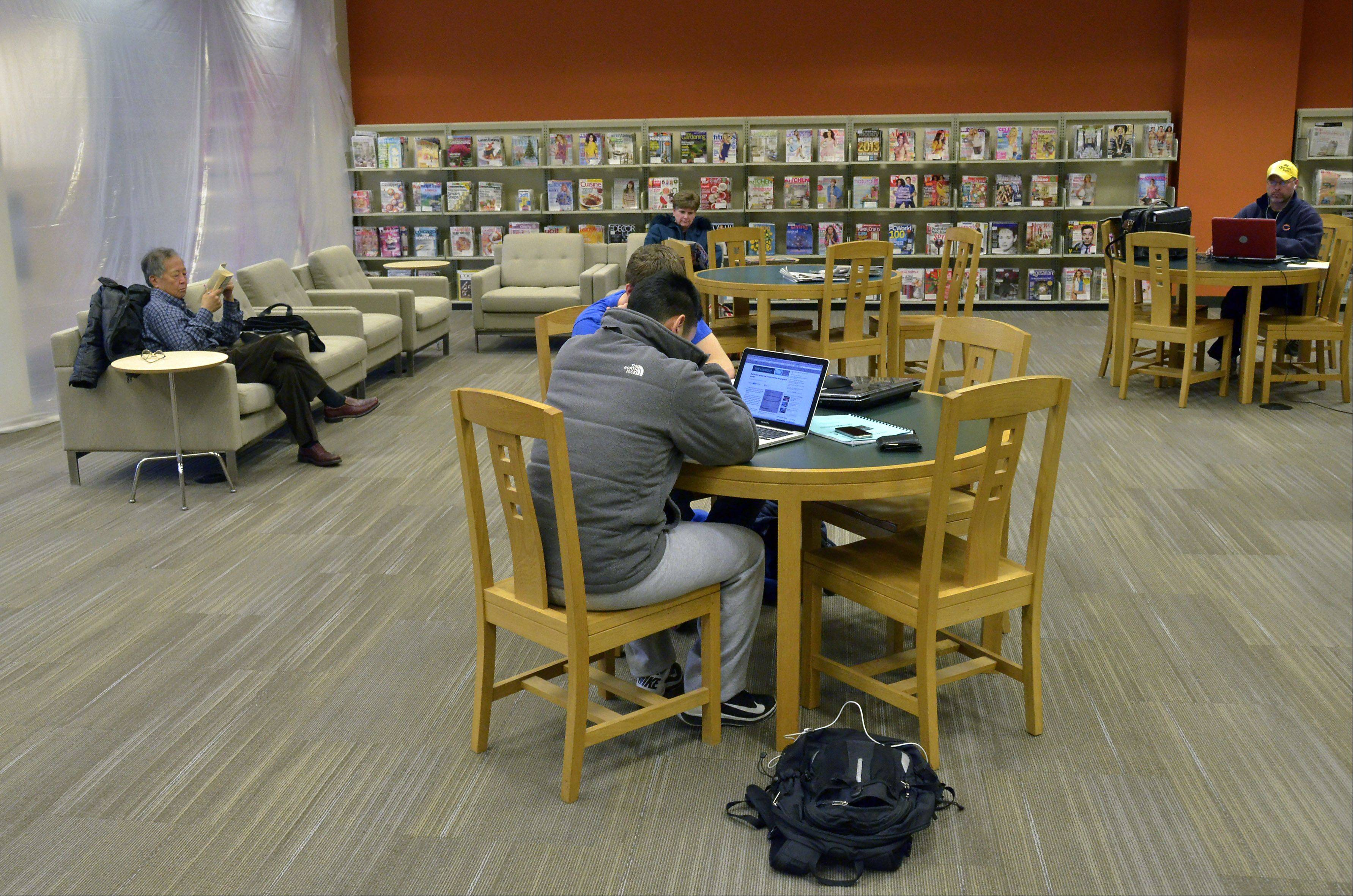 Arlington Heights library renovations ahead of schedule