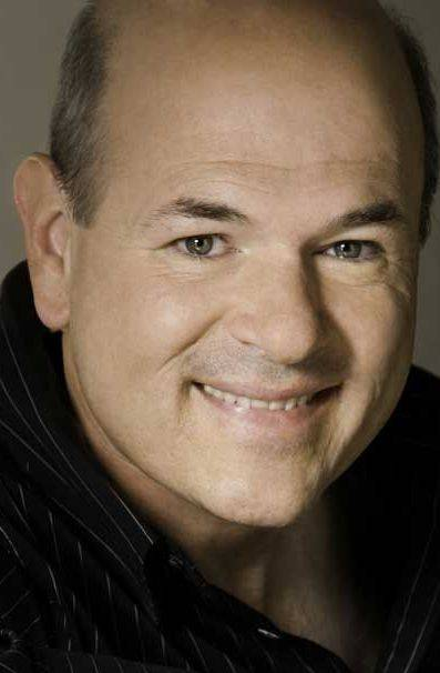 Comedian/actor Larry Miller performs at the Copley Theatre in Aurora.