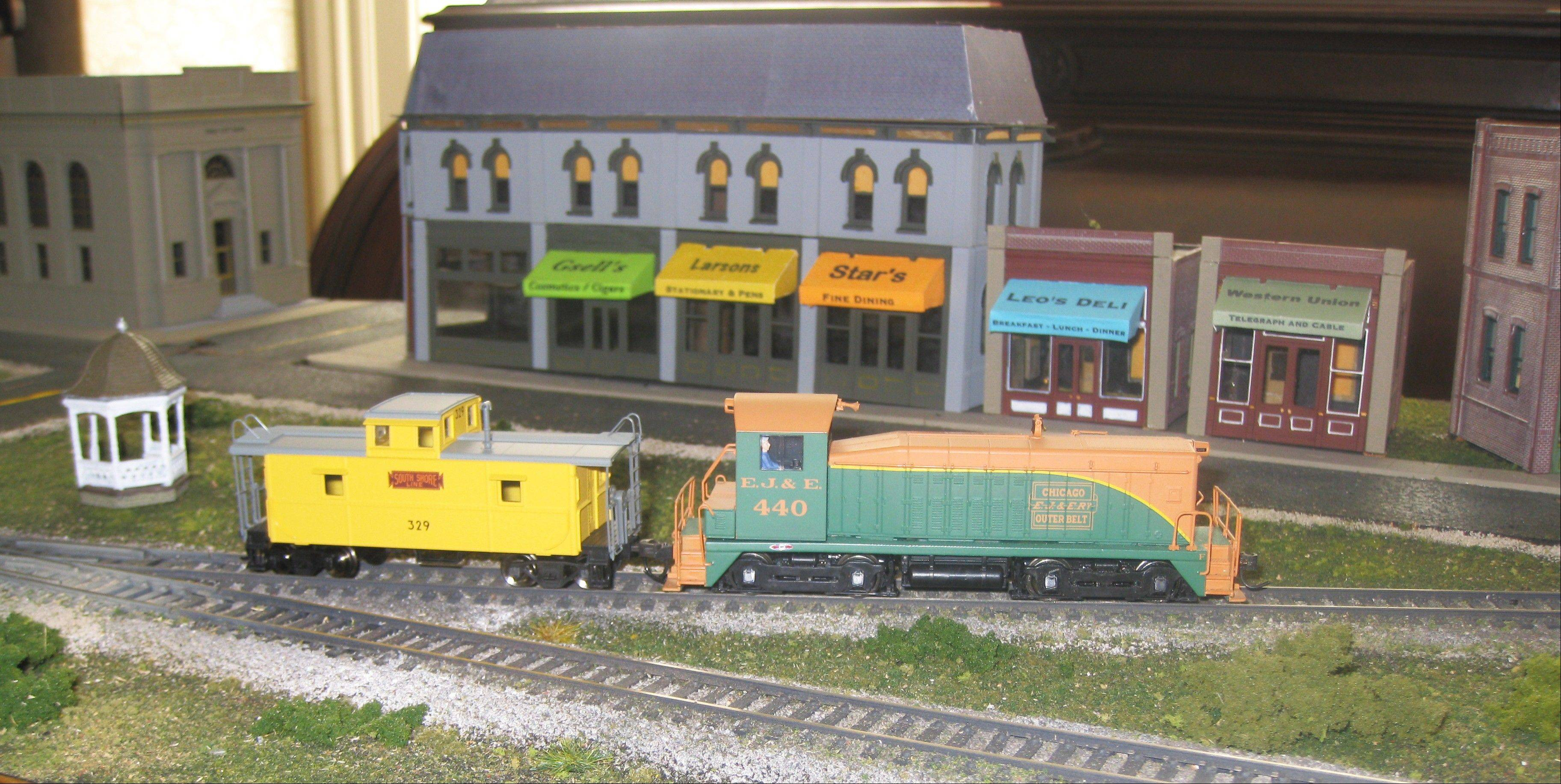"See HO gauge train models, featuring mid-20th century Highland Park landmarks, at ""The History of Toy Trains VI"" exhibit at the Highland Park Historical Society."