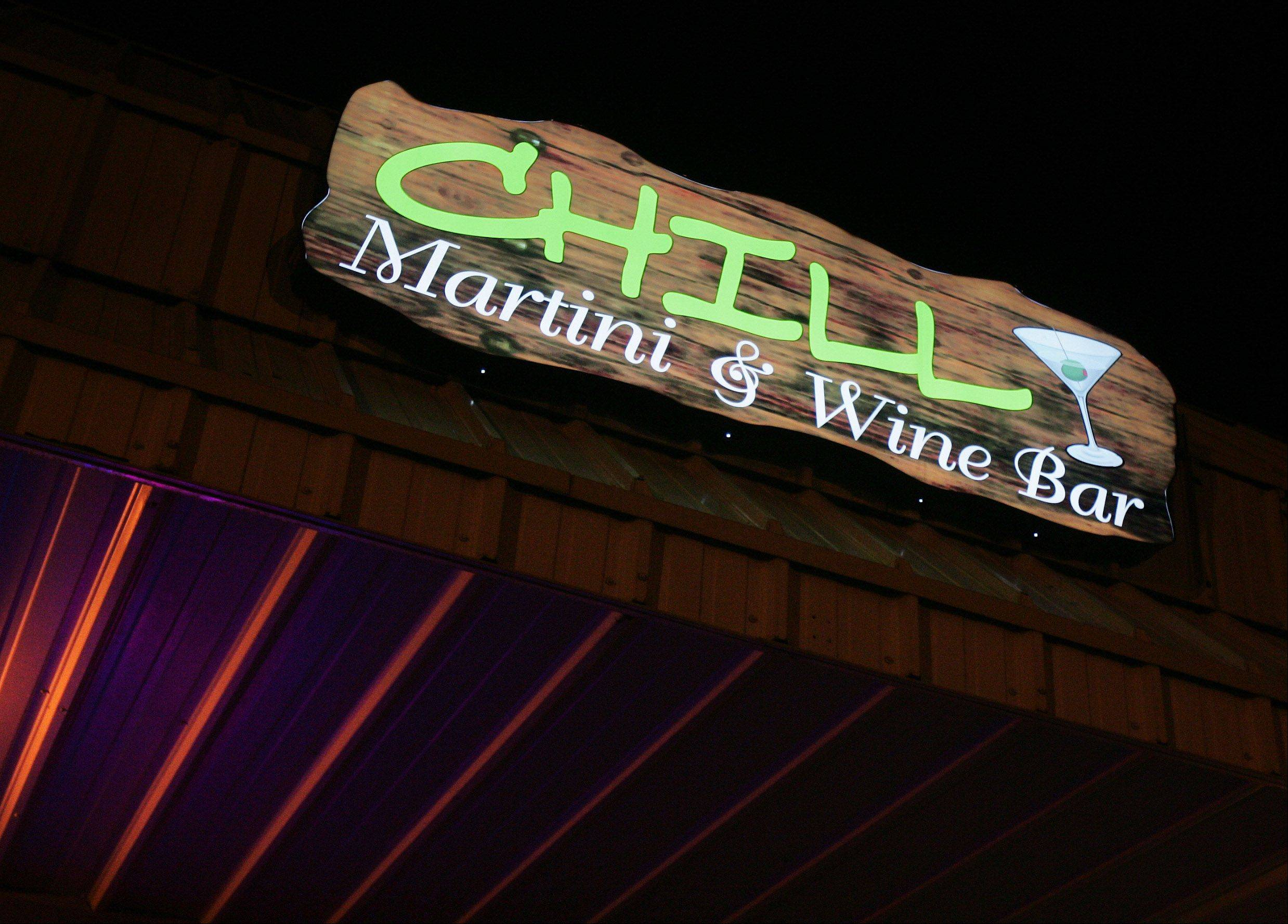 Chill Martini & Wine Bar opened last February in Lake Villa.