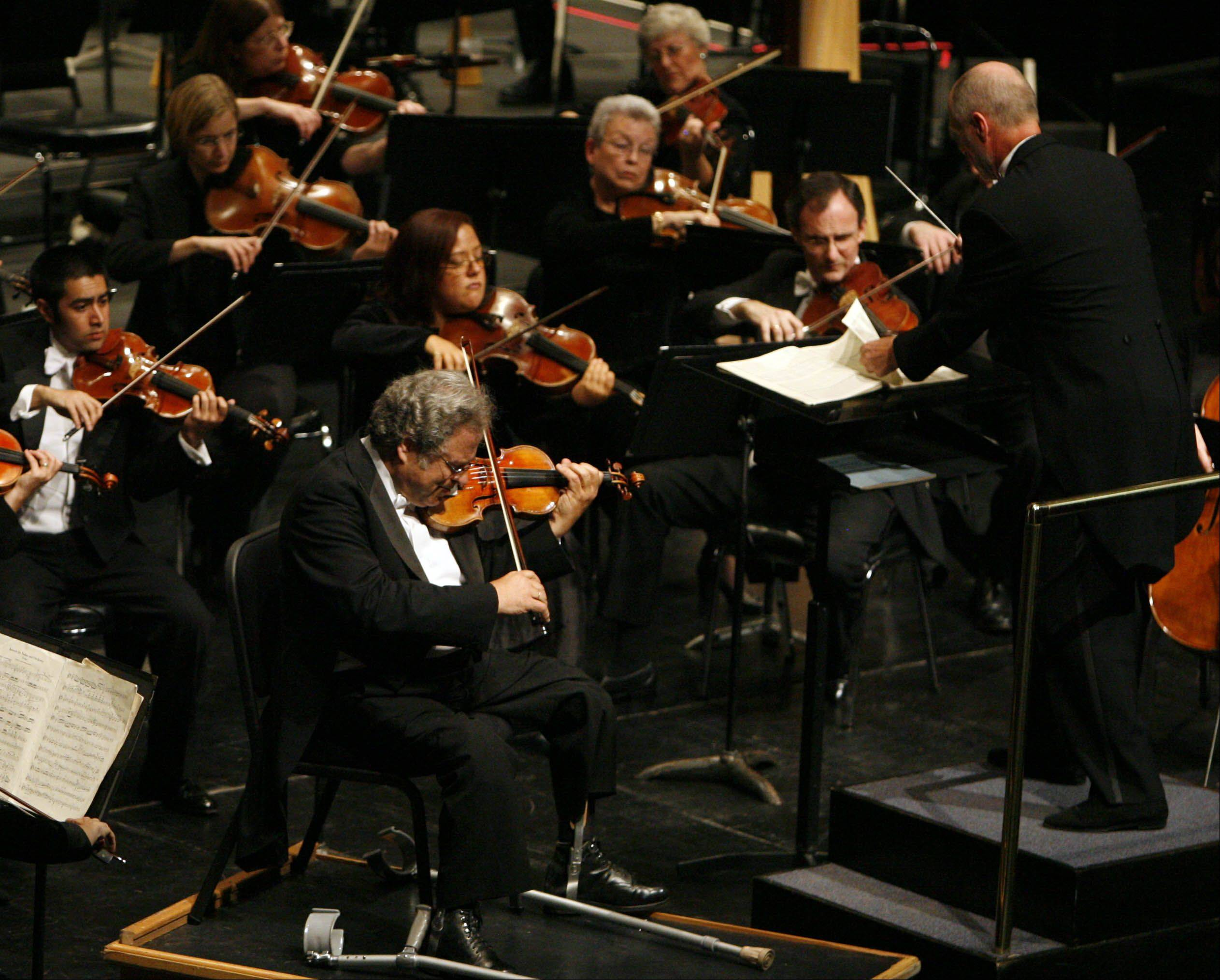 Itzhak Perlman was a part of the opening for the ESO's 58th season.