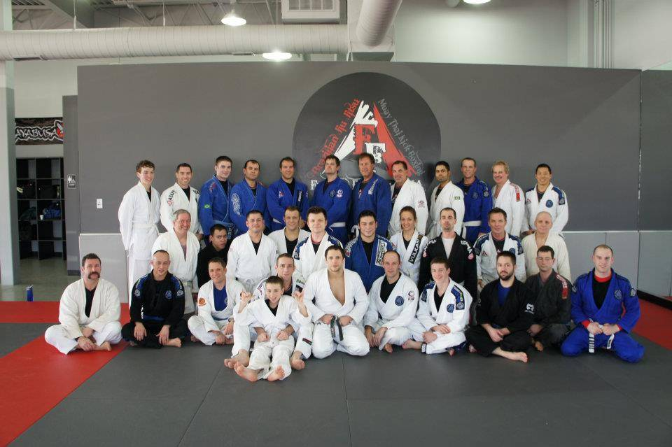 This photo was taken during the last Jeff Curran seminar at Fusion Fitness MMA.