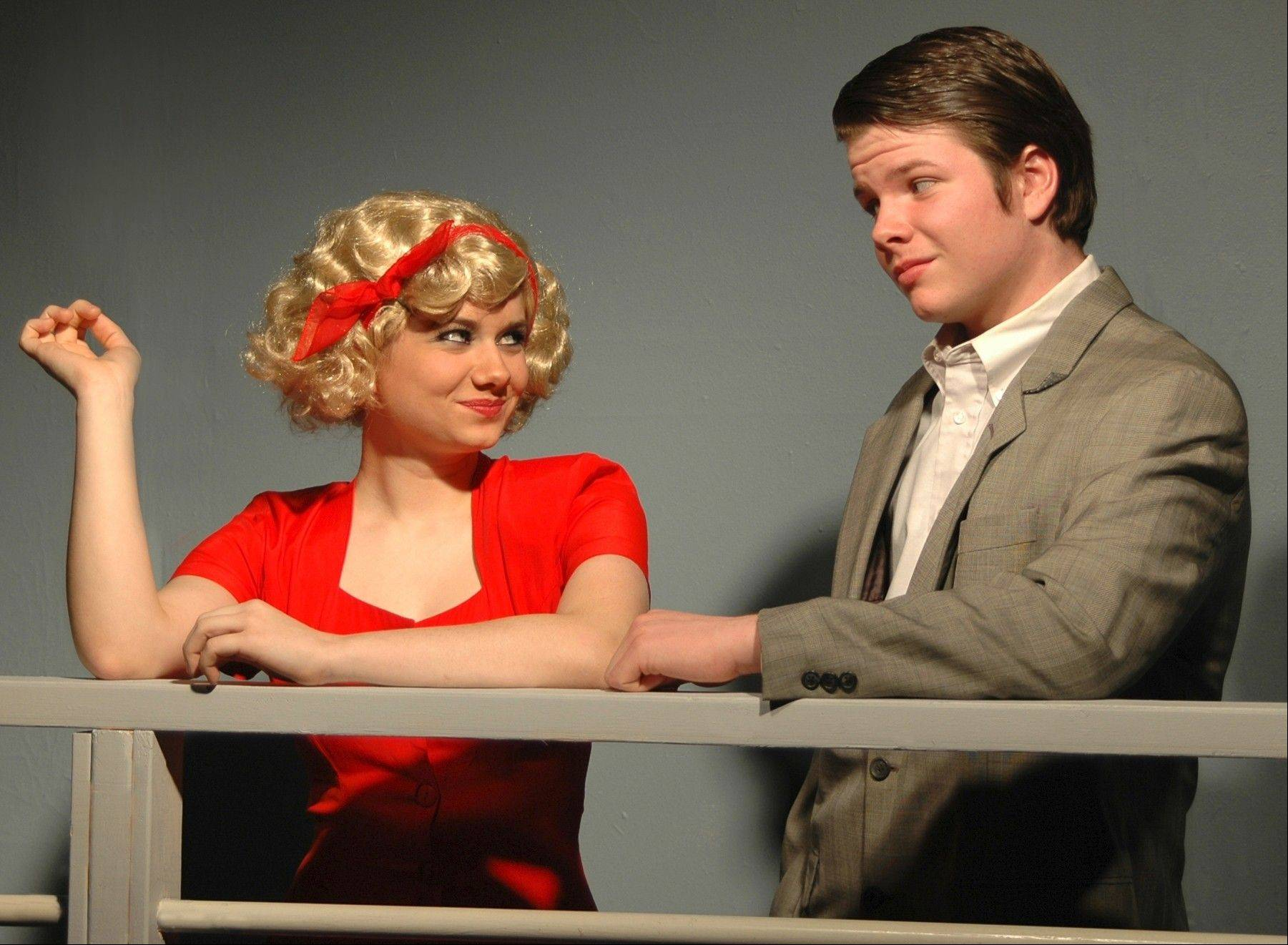 "The real-life sister-brother combo of Allison Elkins (playing Reno Sweeney) and Jake Elkins (playing Billy Crocker) headline this weekend's Winter Stage production of ""Anything Goes,"" with four shows at the Fox Valley Park District's Prisco Center."