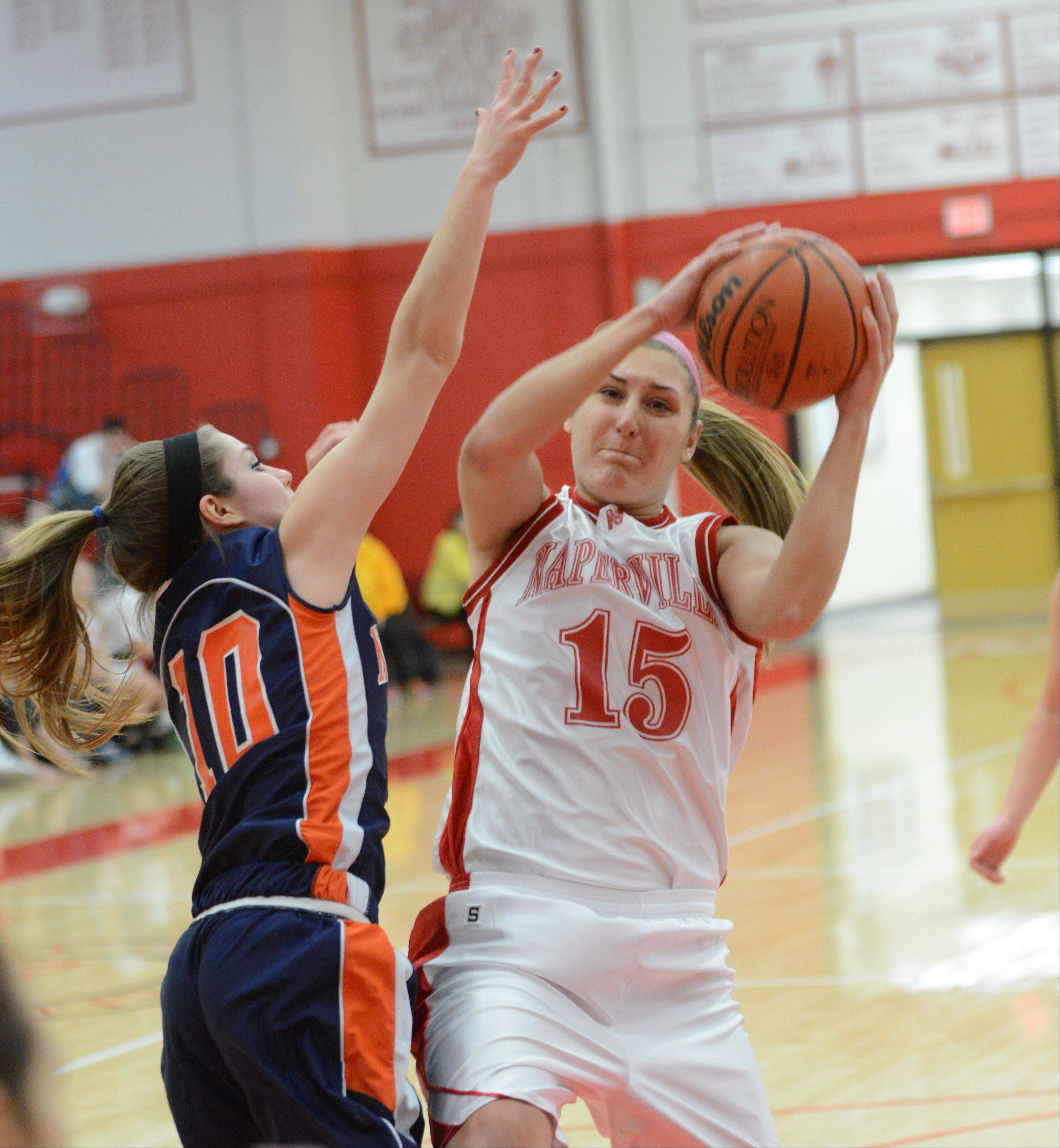 Naperville Central hosted Naperville North Thursday night for girls basketball.