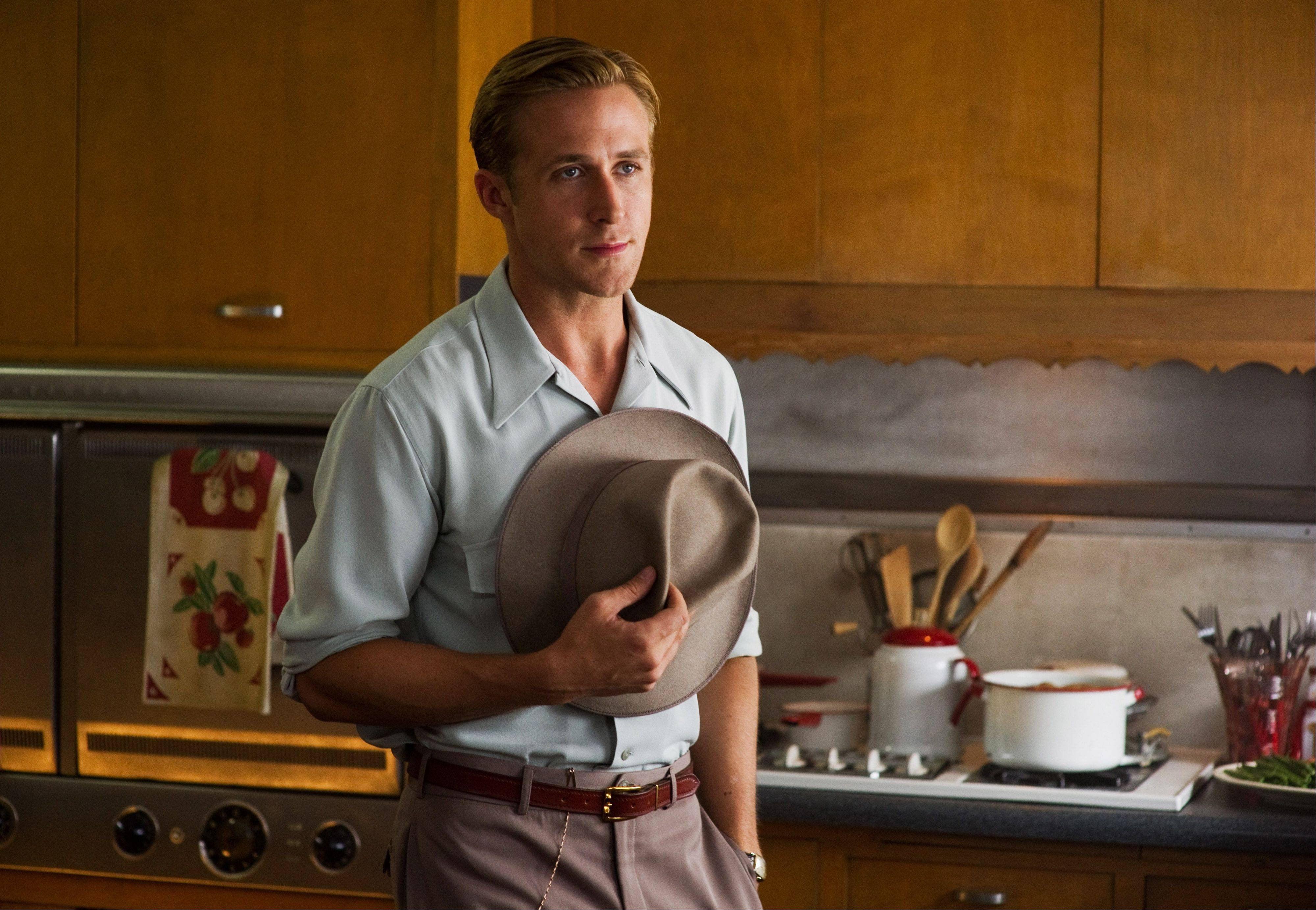 "Sgt. Jerry Wooters (Ryan Gosling) is the face behind the operation in ""Gangster Squad."""