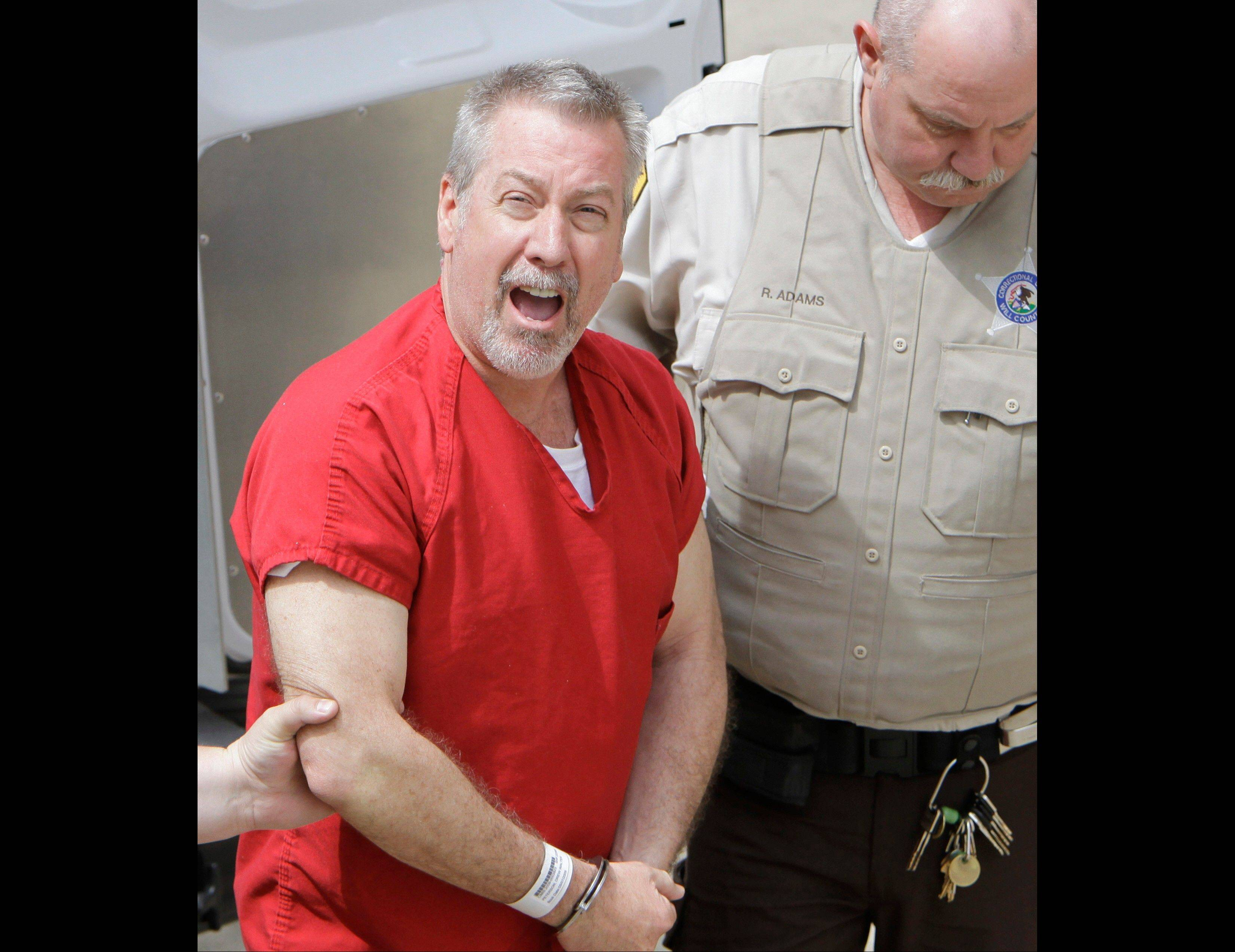 Former Bolingbrook police sergeant Drew Peterson could be sentenced in February.