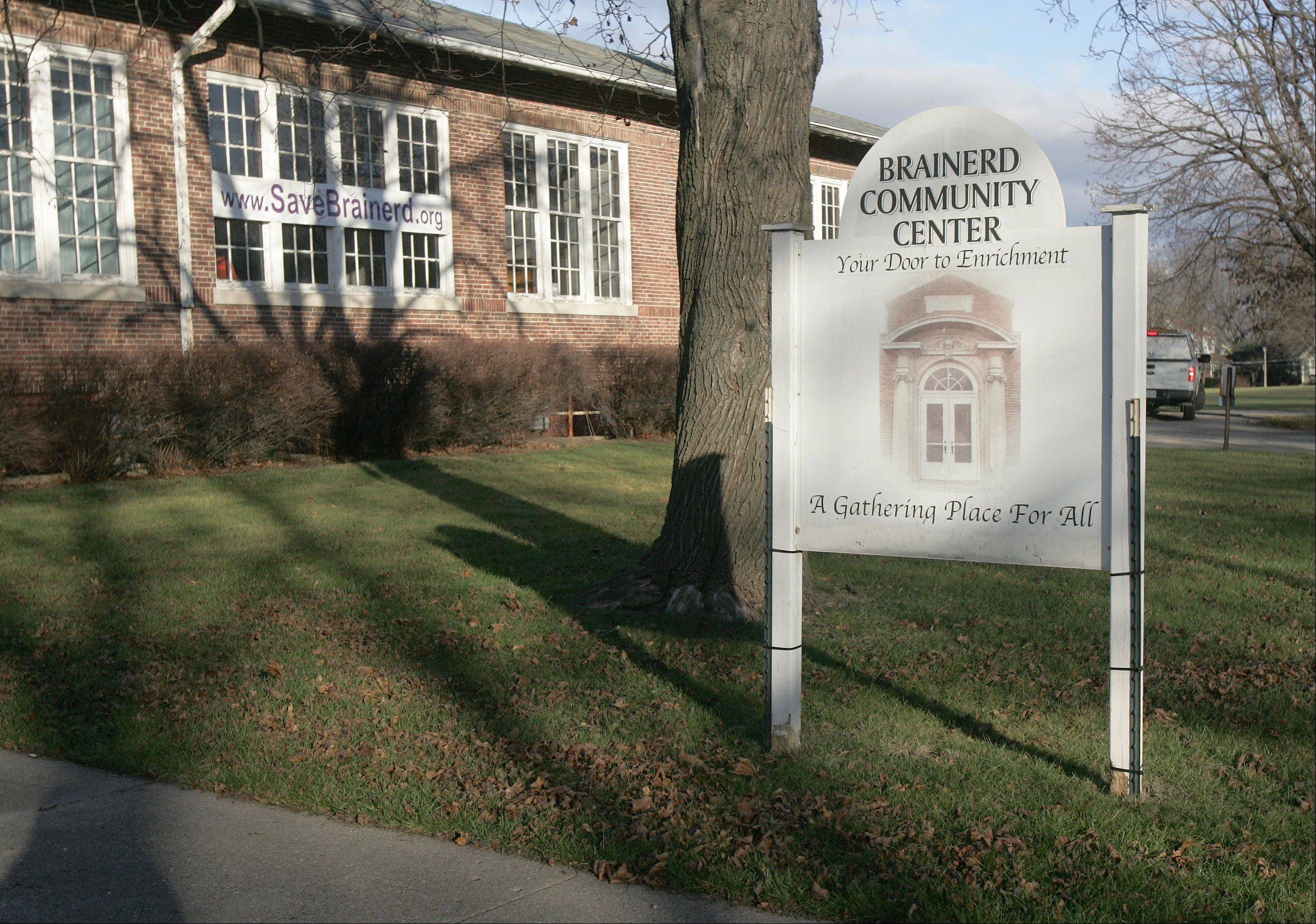 Libertyville voters won't be asked whether they support a tax hike to convert the Brainerd building to a community center until March 2014.
